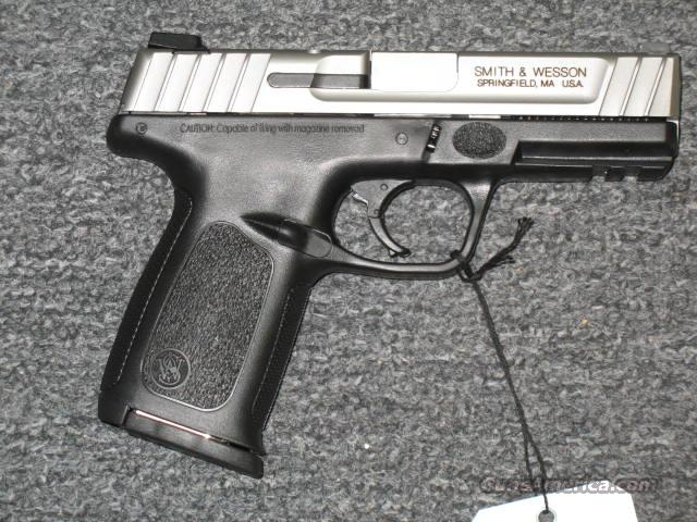SD40VE  w/stainless slide   Guns > Pistols > Smith & Wesson Pistols - Autos > Polymer Frame