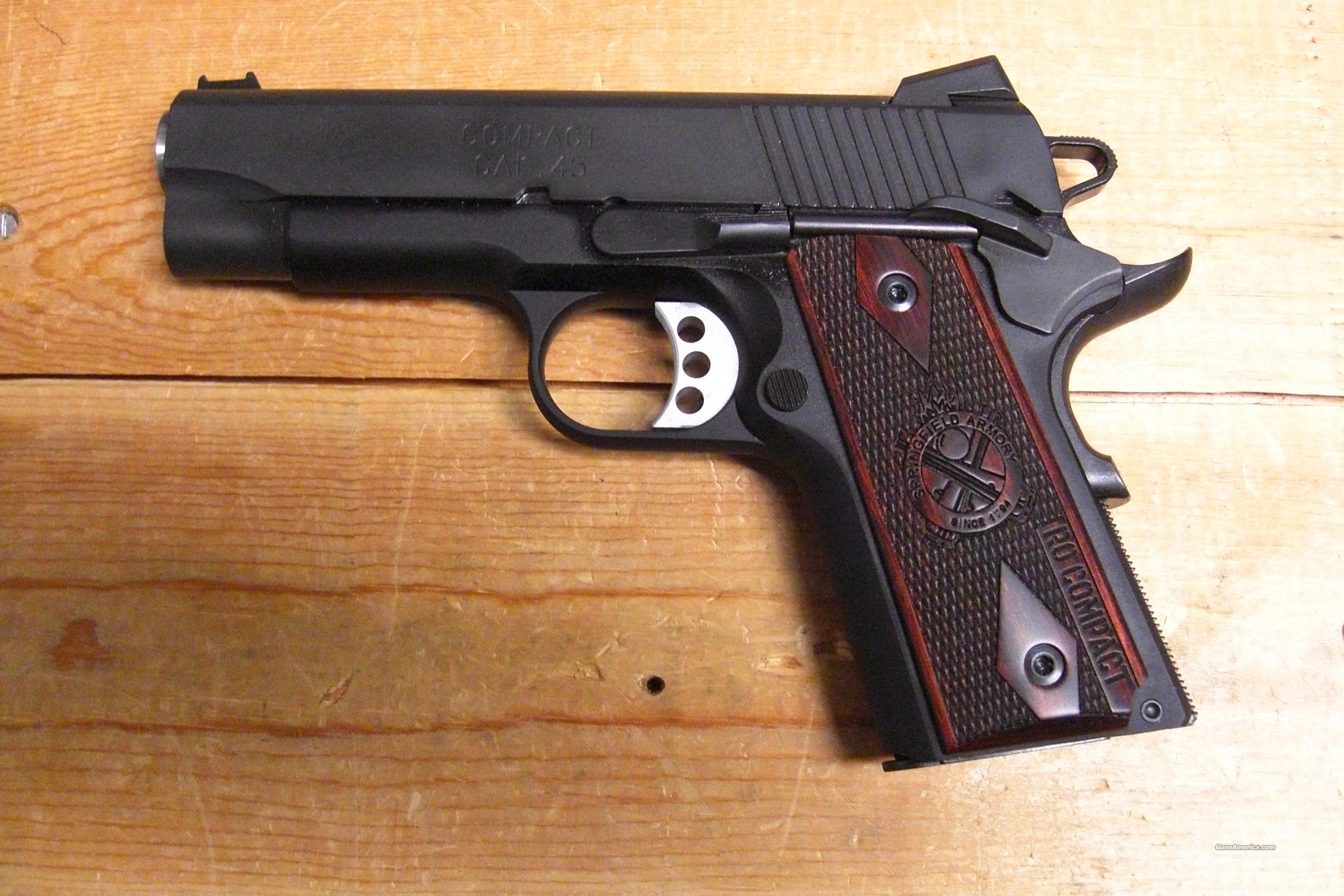 1911-A1 Range Officer Compact  Guns > Pistols > Springfield Armory Pistols > 1911 Type