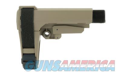 SB Tactical Pistol Stabilizing Brace for AR's (SBA3-02-SB) in FDE  Non-Guns > Gun Parts > Stocks > Polymer