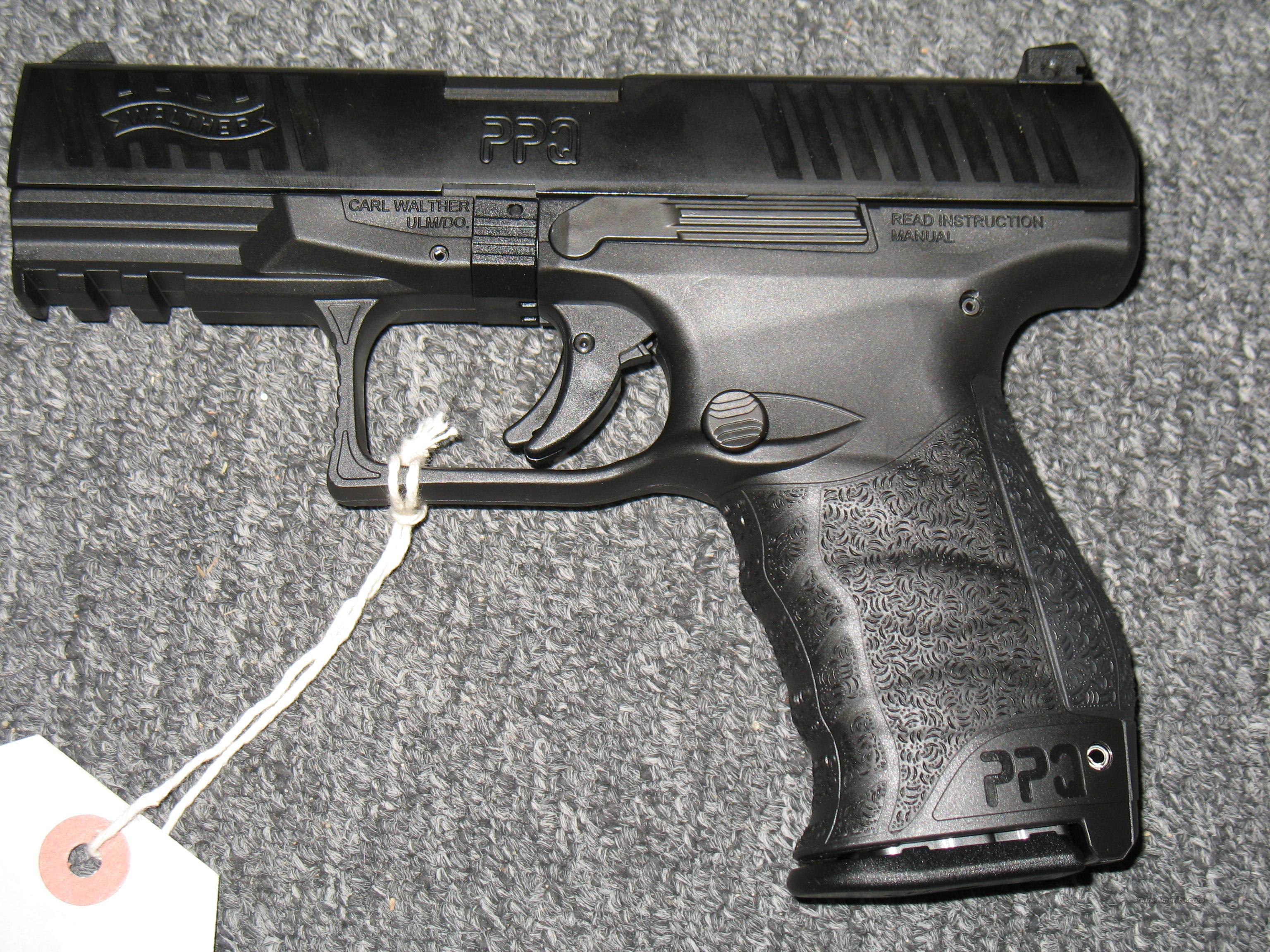 Walther PPQ 9mm  Guns > Pistols > Walther Pistols > Post WWII > P99/PPQ
