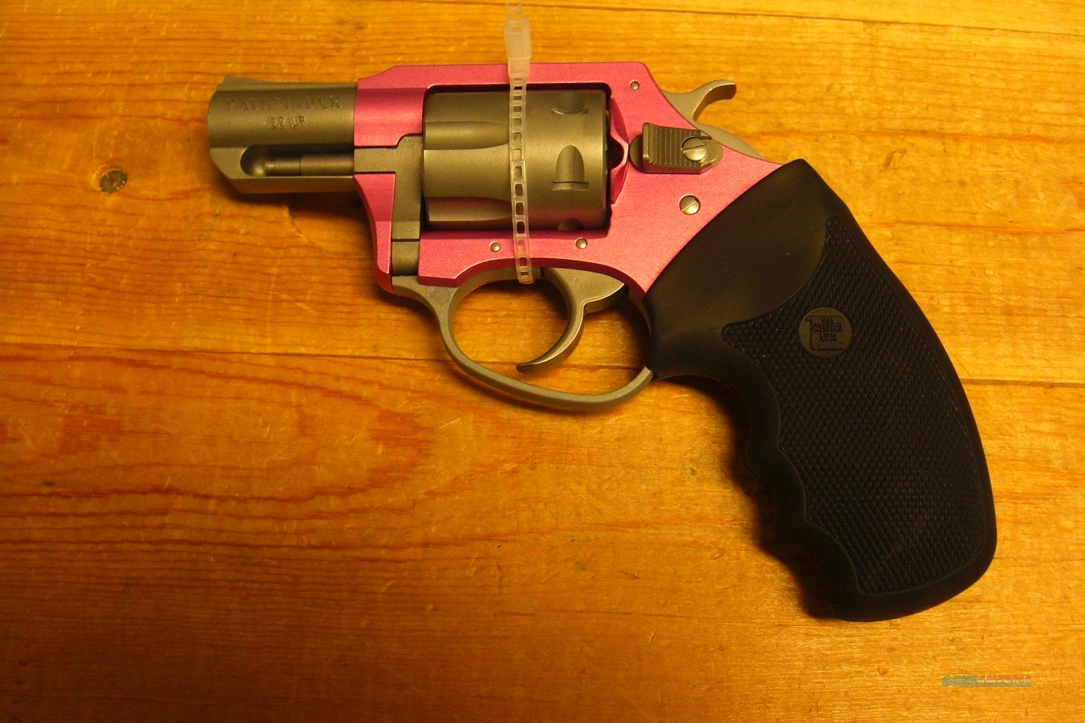 Pink Lady  Pathfinder  Guns > Pistols > Charter Arms Revolvers