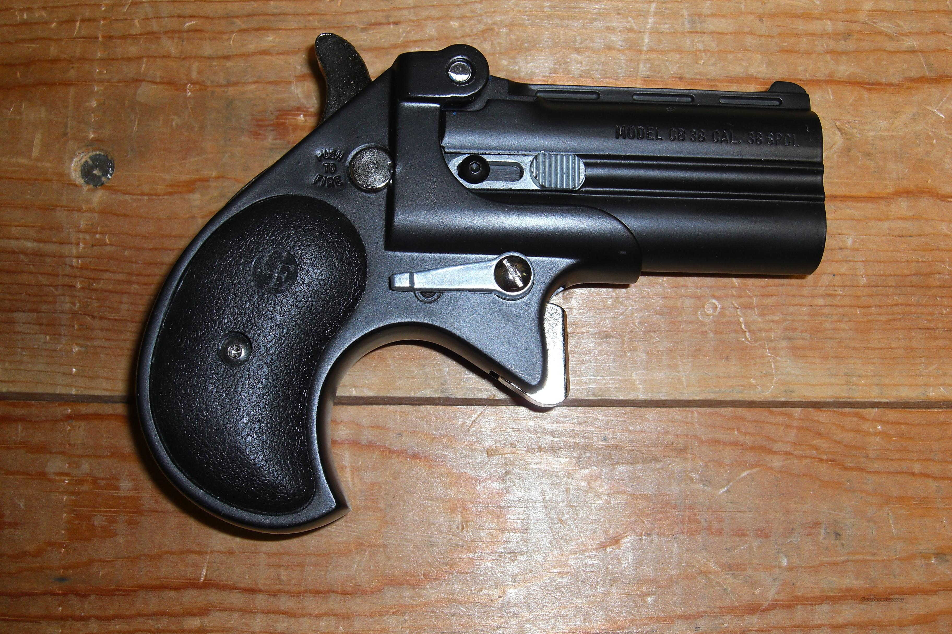 CB38   all black  Guns > Pistols > Cobra Derringers