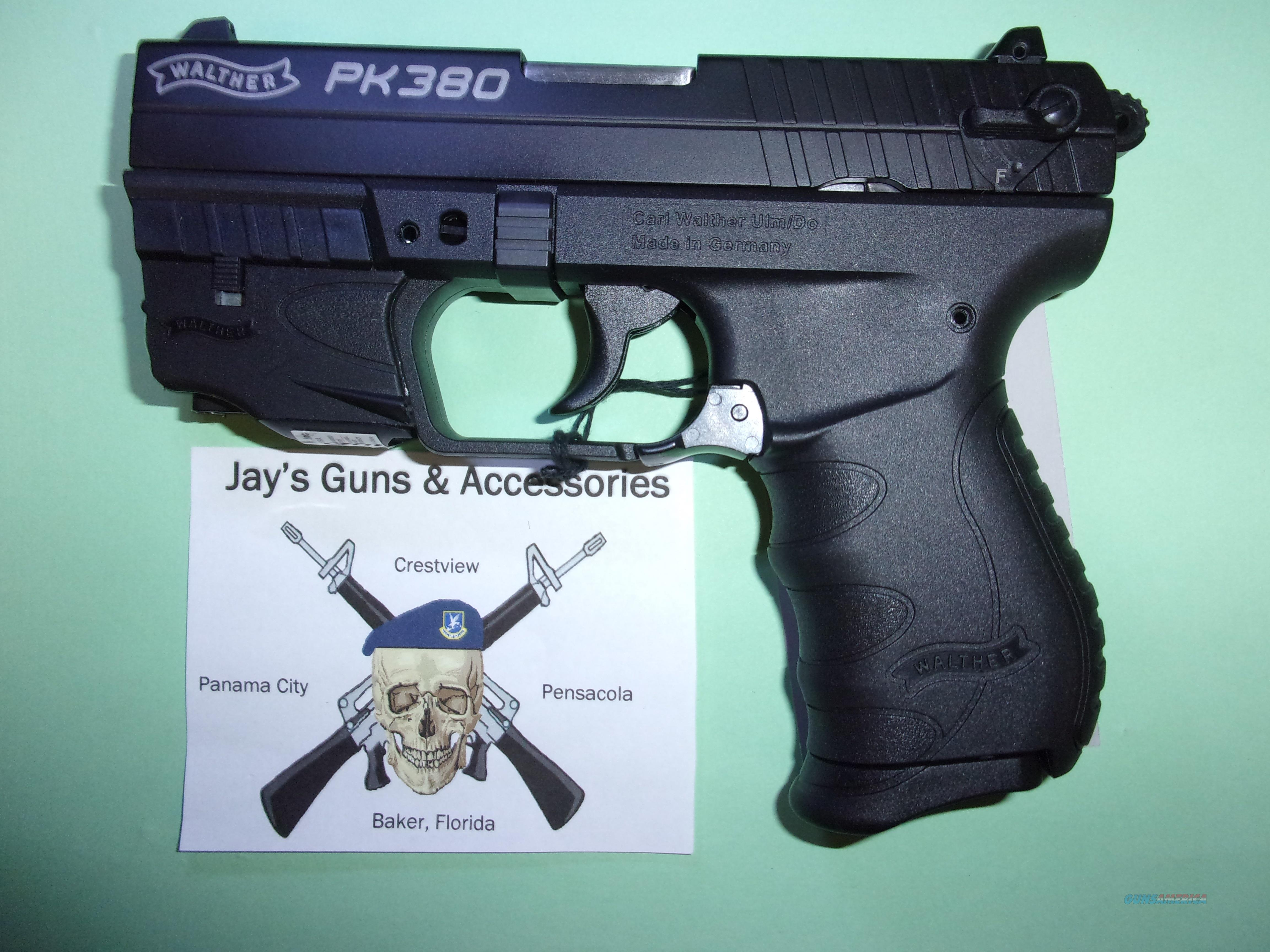 Walther PK380 w/Laser  Guns > Pistols > Walther Pistols > Post WWII > PK380