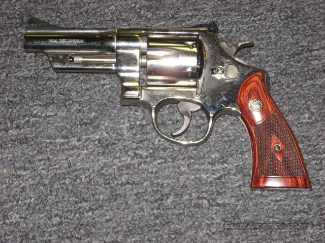 27-9  Guns > Pistols > Smith & Wesson Revolvers > Full Frame Revolver