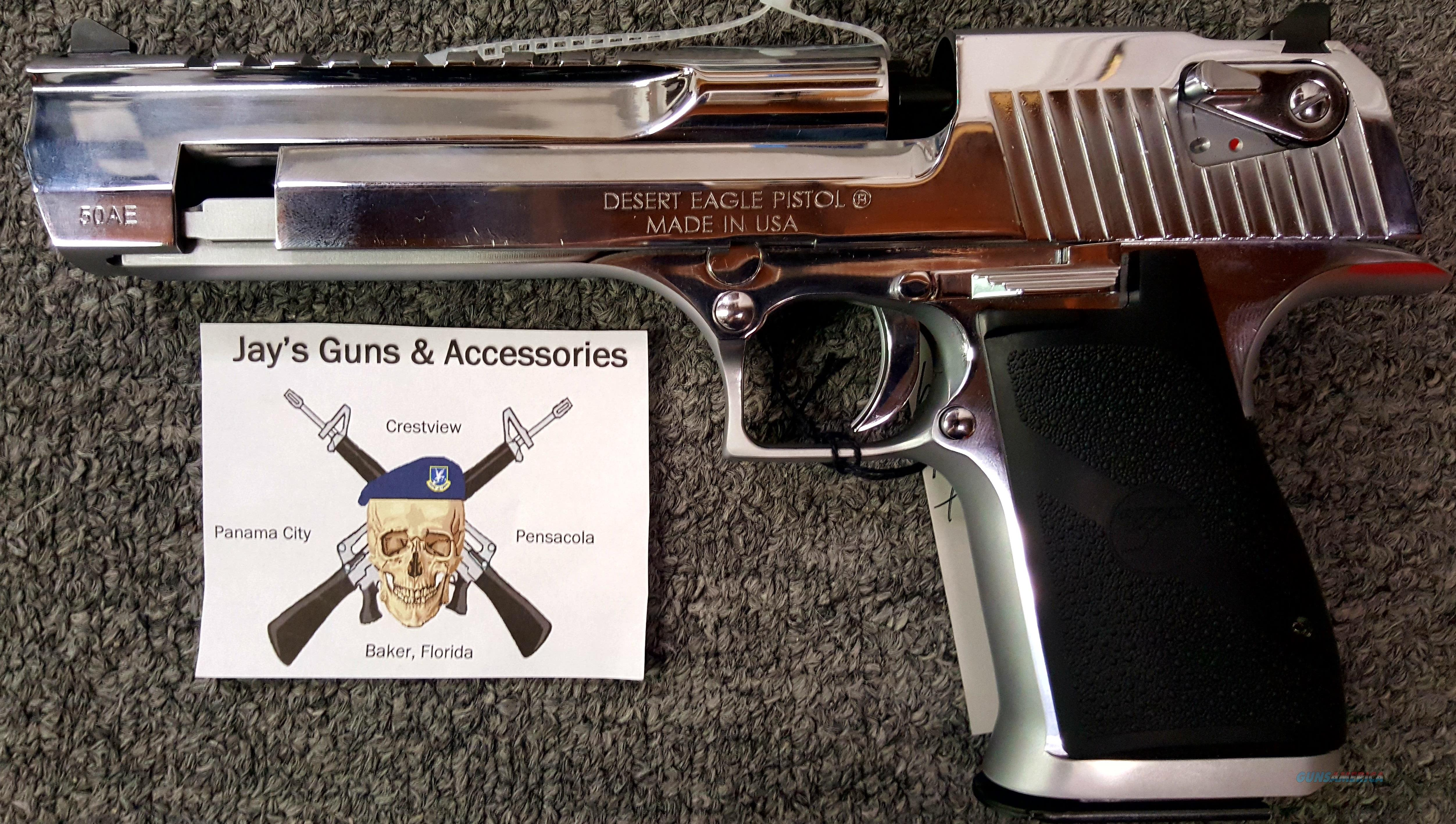 Magnum Research Desert Eagle w/Polished Chrome Finish  Guns > Pistols > Magnum Research Pistols
