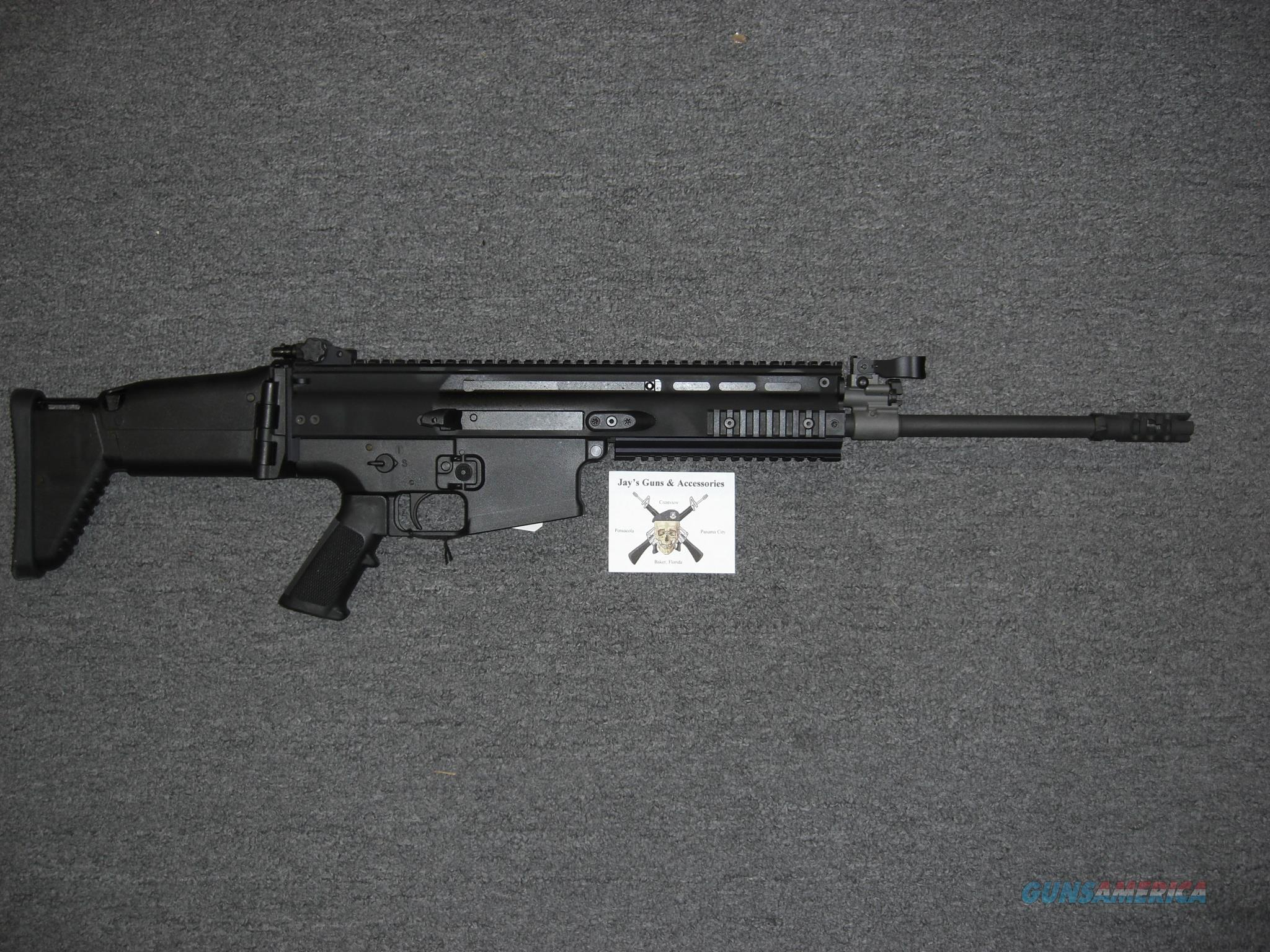FNH SCAR 17S w/Black Finish in .308  Guns > Rifles > FNH - Fabrique Nationale (FN) Rifles > Semi-auto > Other