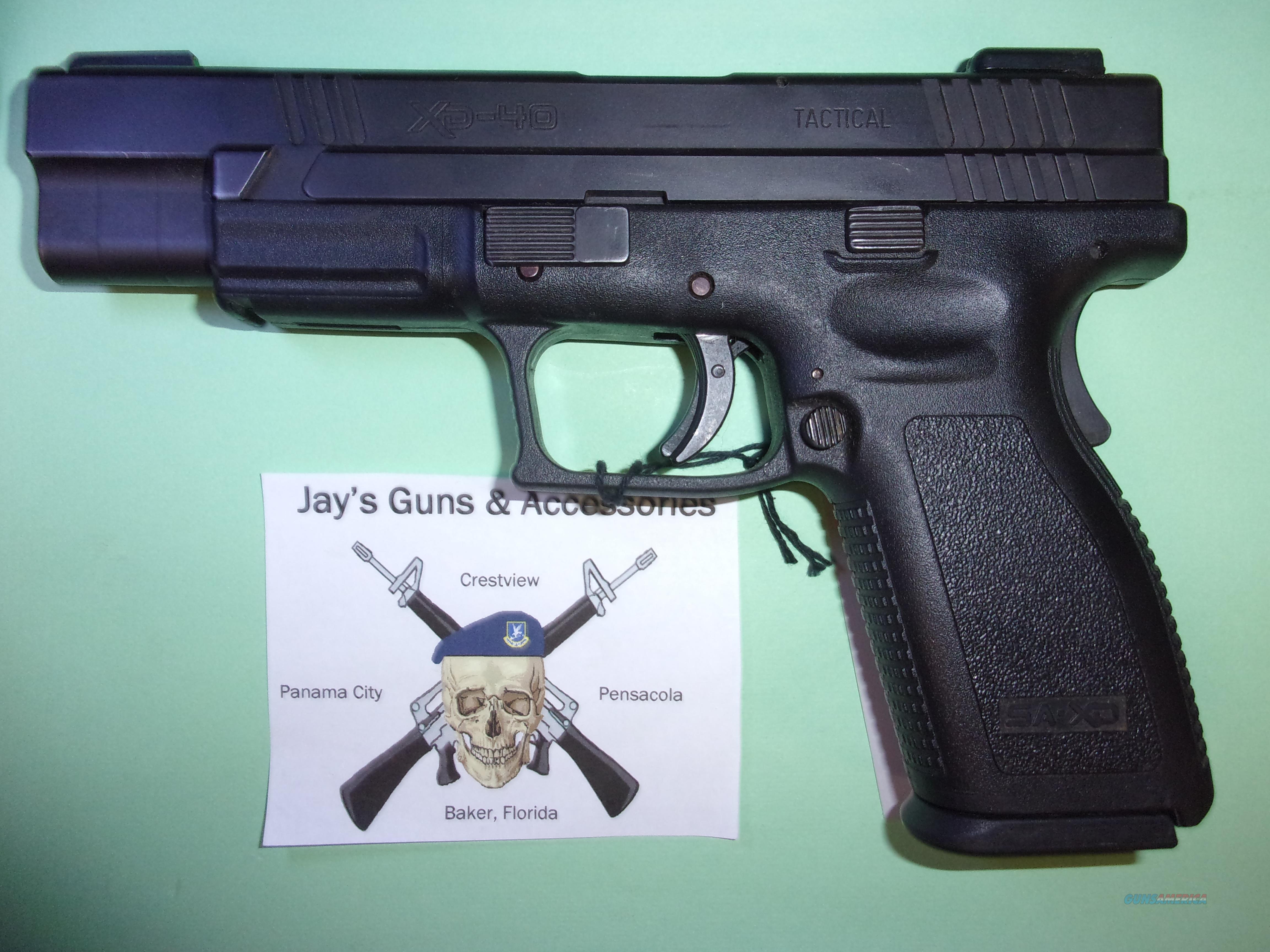 Springfield Armory XD-40  Guns > Pistols > Springfield Armory Pistols > XD (eXtreme Duty)