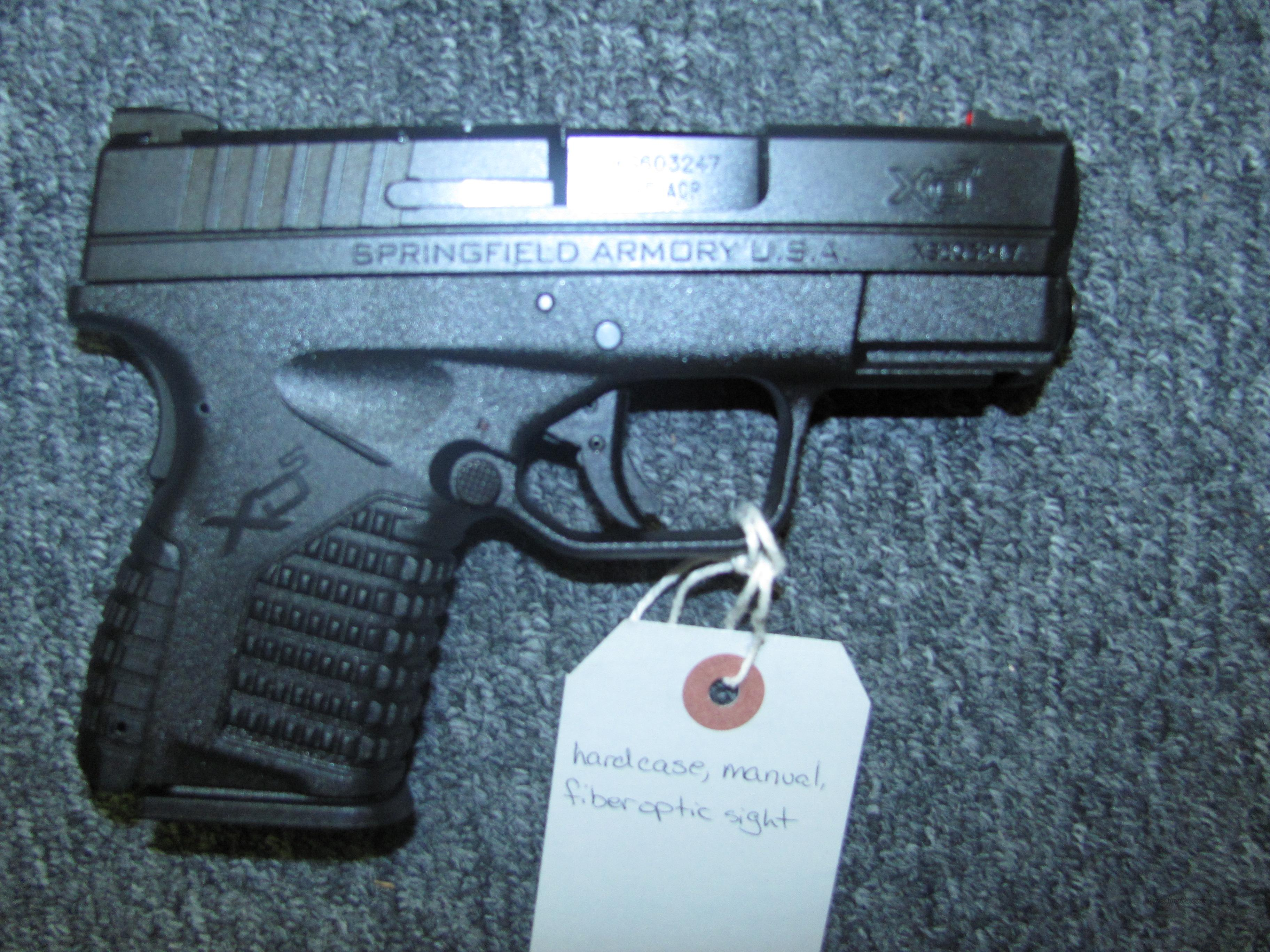 XDS-45 w/2 5 rd mags  Guns > Pistols > Springfield Armory Pistols > XD-S