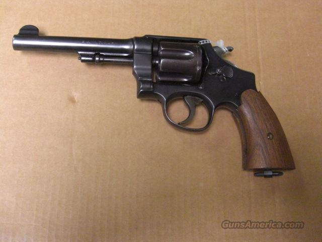 US Army Model of 1917 (mfg.1917-1919)  Guns > Pistols > Smith & Wesson Revolvers > Pre-1945