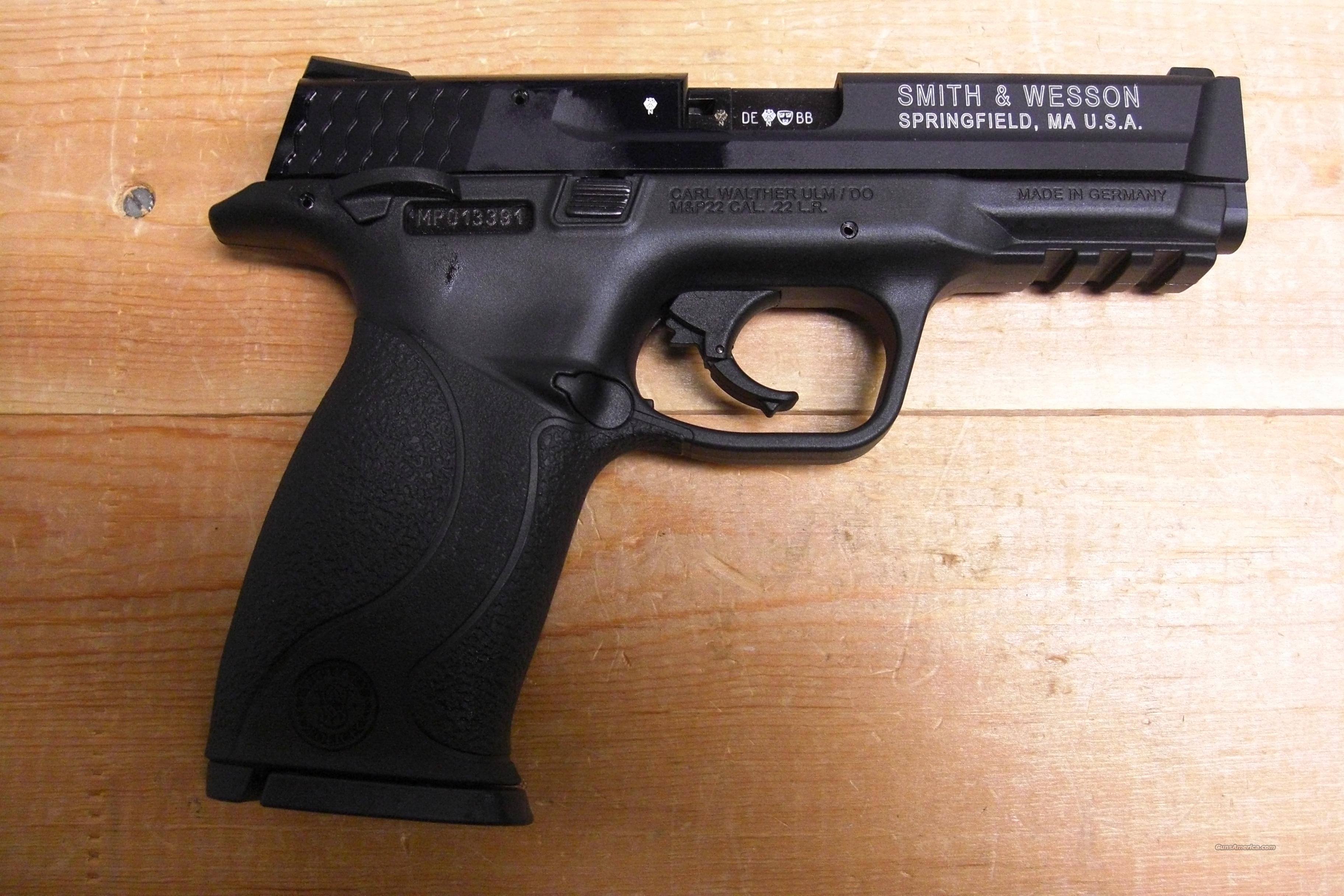 M&P 22  Guns > Pistols > Smith & Wesson Pistols - Autos > Polymer Frame