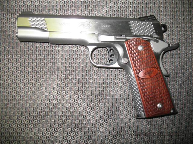 Stainless Raptor II w/night sights  Guns > Pistols > Kimber of America Pistols