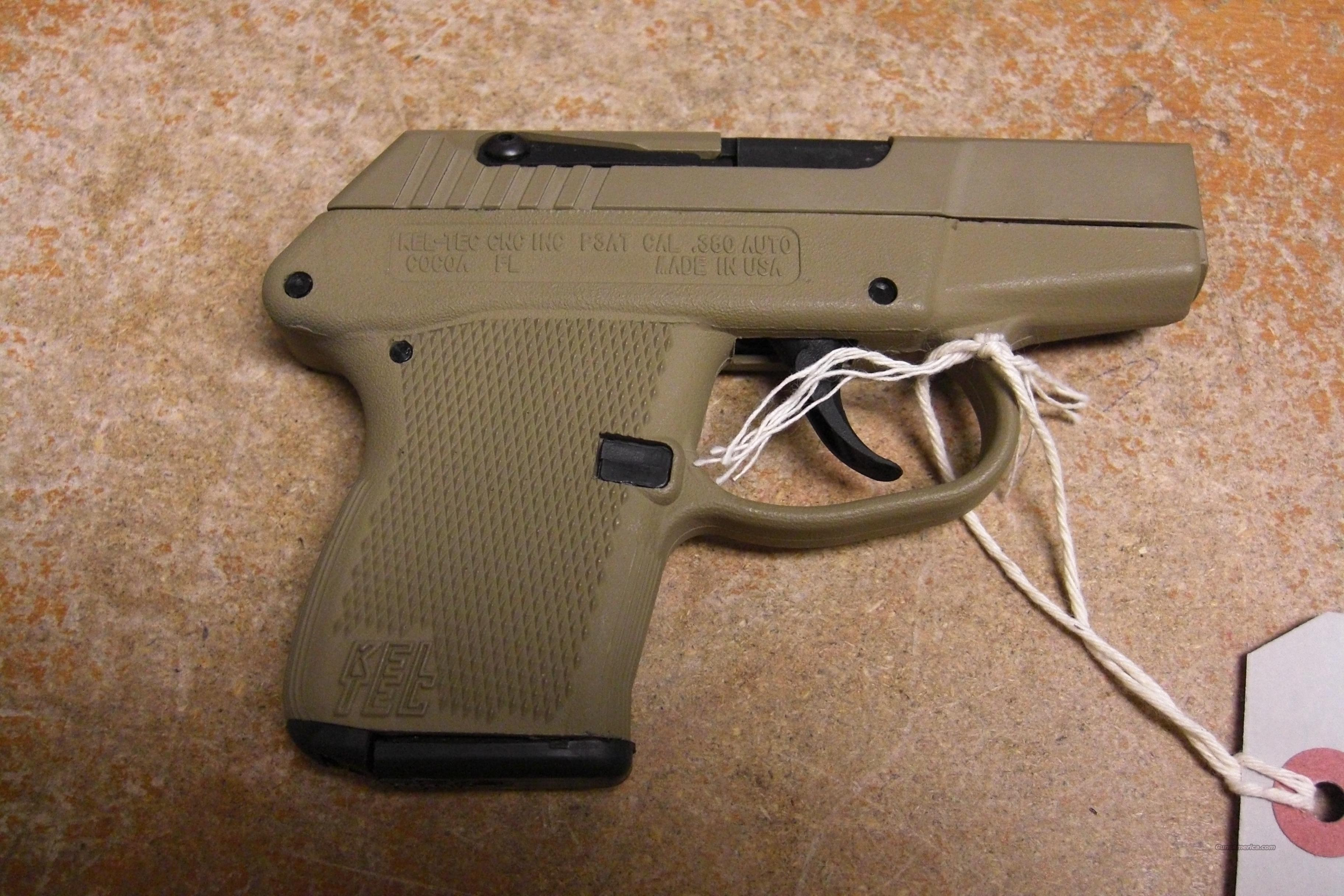 P3AT w/desert tan finish  Guns > Pistols > Kel-Tec Pistols > Pocket Pistol Type