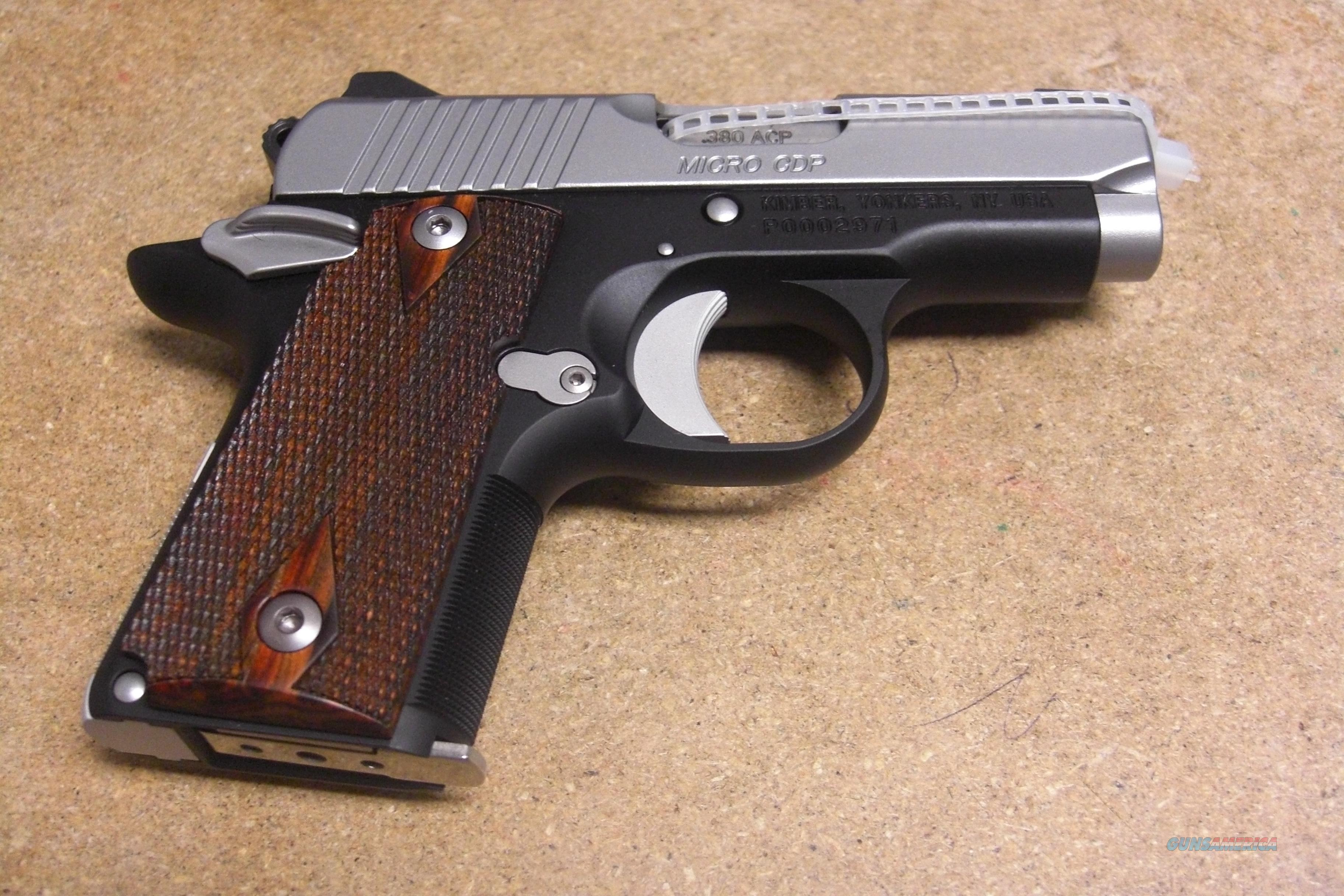 Micro CDP  w/night sights  Guns > Pistols > Kimber of America Pistols
