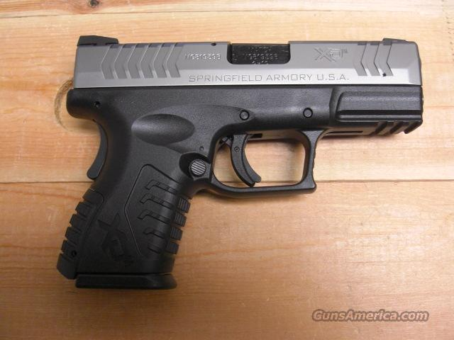 "XDM-9  Compact 3.8"" 2 tone stainless  Guns > Pistols > Springfield Armory Pistols > XD (eXtreme Duty)"