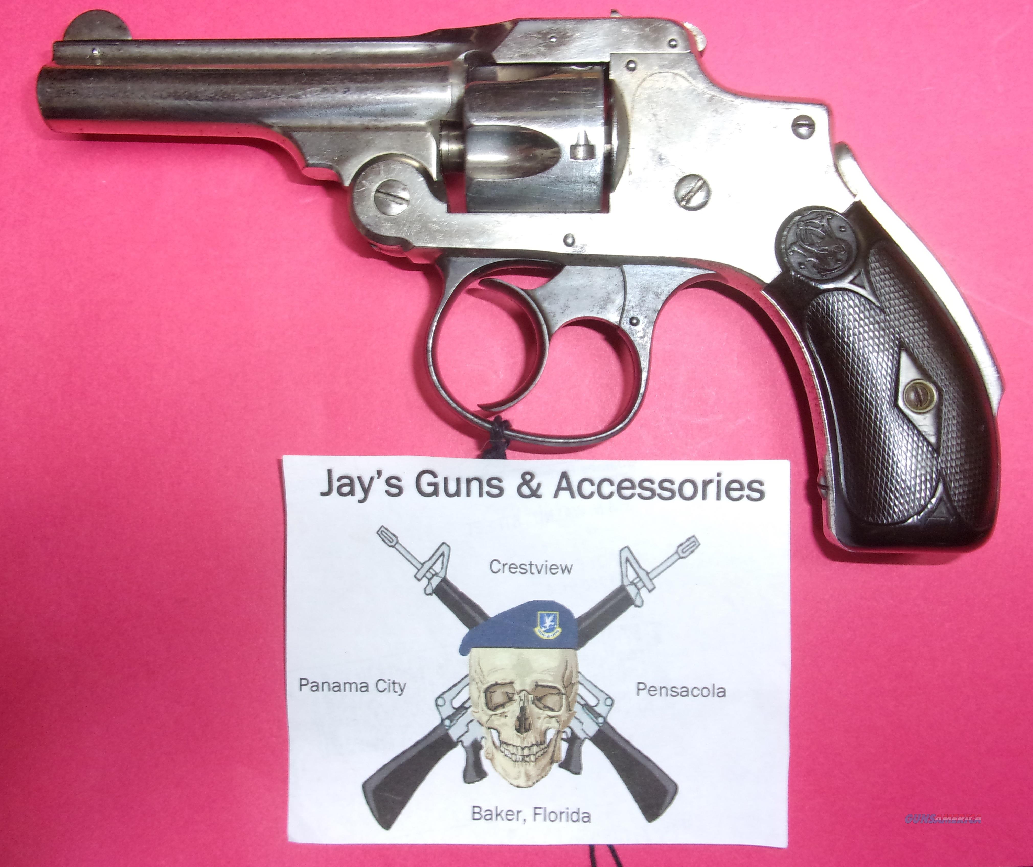 Smith & Wesson .32 Safety Hammerless 1st Model  Guns > Pistols > Smith & Wesson Revolvers > Pre-1945