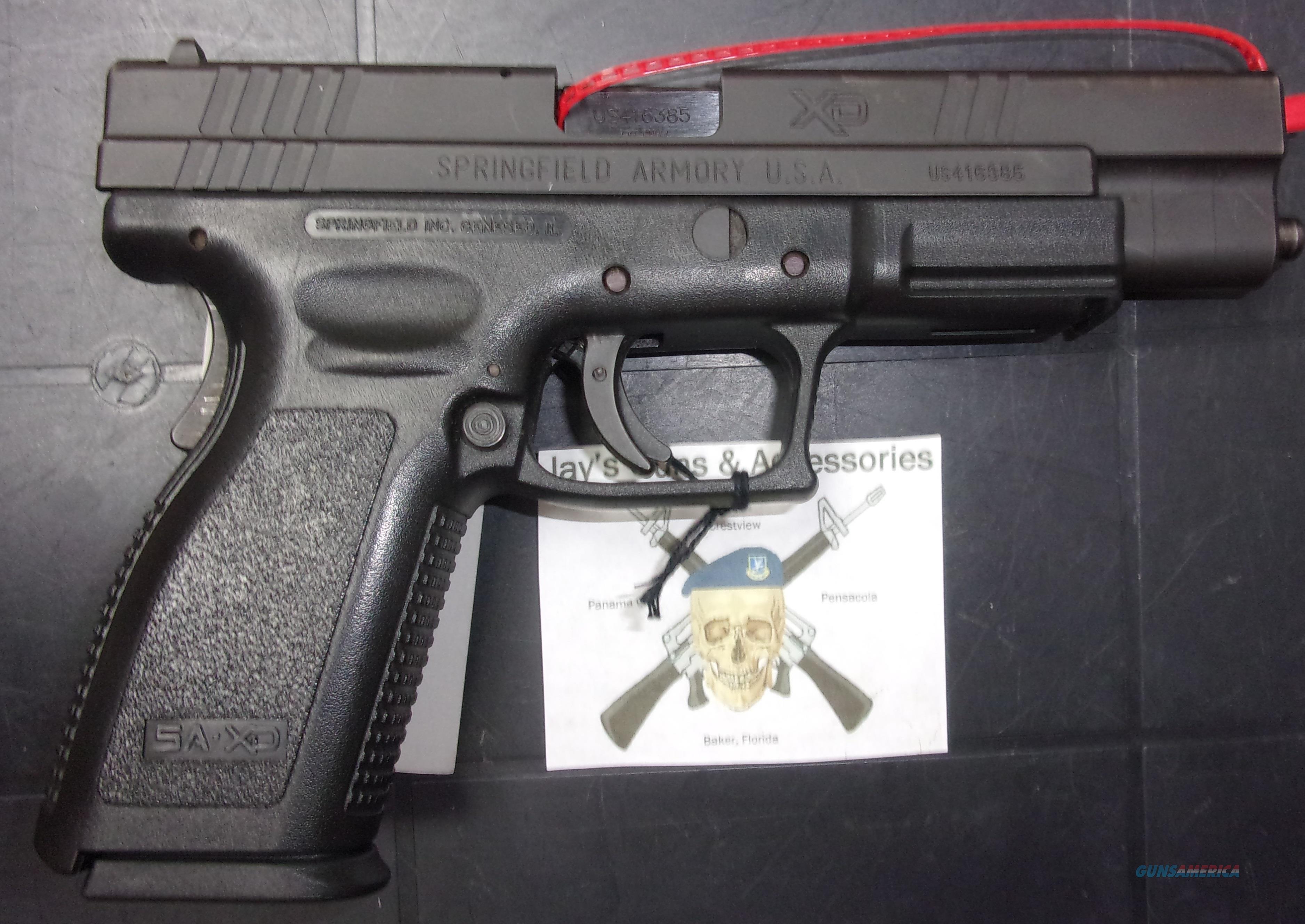 Springfield Armory XD-40 Tactical  Guns > Pistols > Springfield Armory Pistols > XD (eXtreme Duty)