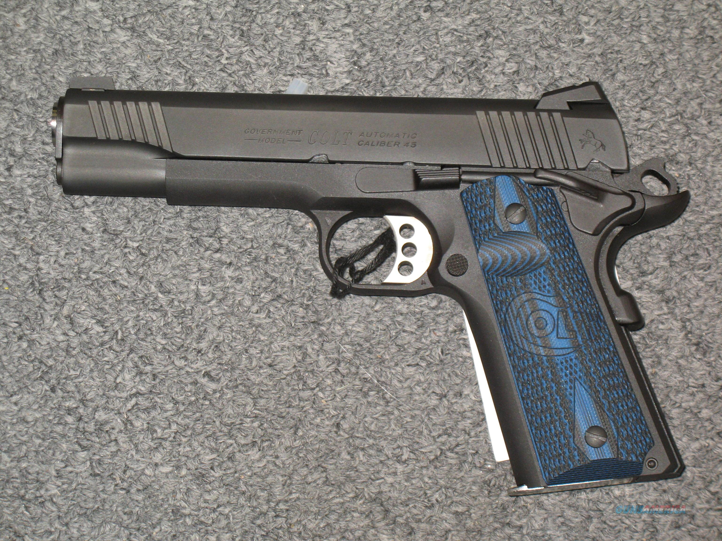 1911 Government model (.45acp) Combat Unit (Competition Series) 01980CCS  Guns > Pistols > Colt Automatic Pistols (1911 & Var)