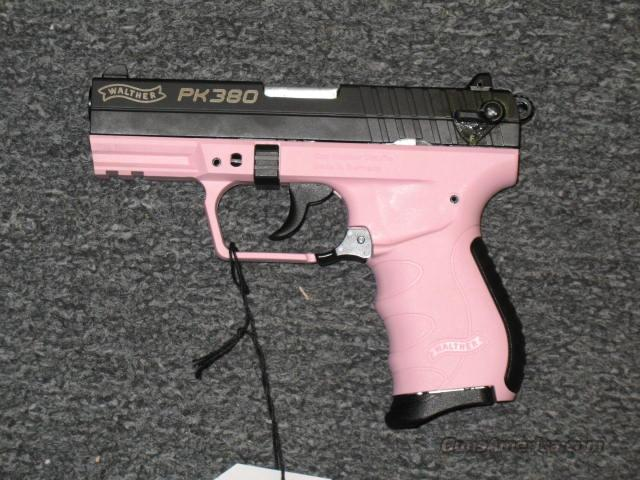PK380 Pink frame  Guns > Pistols > Walther Pistols > Post WWII > PP Series