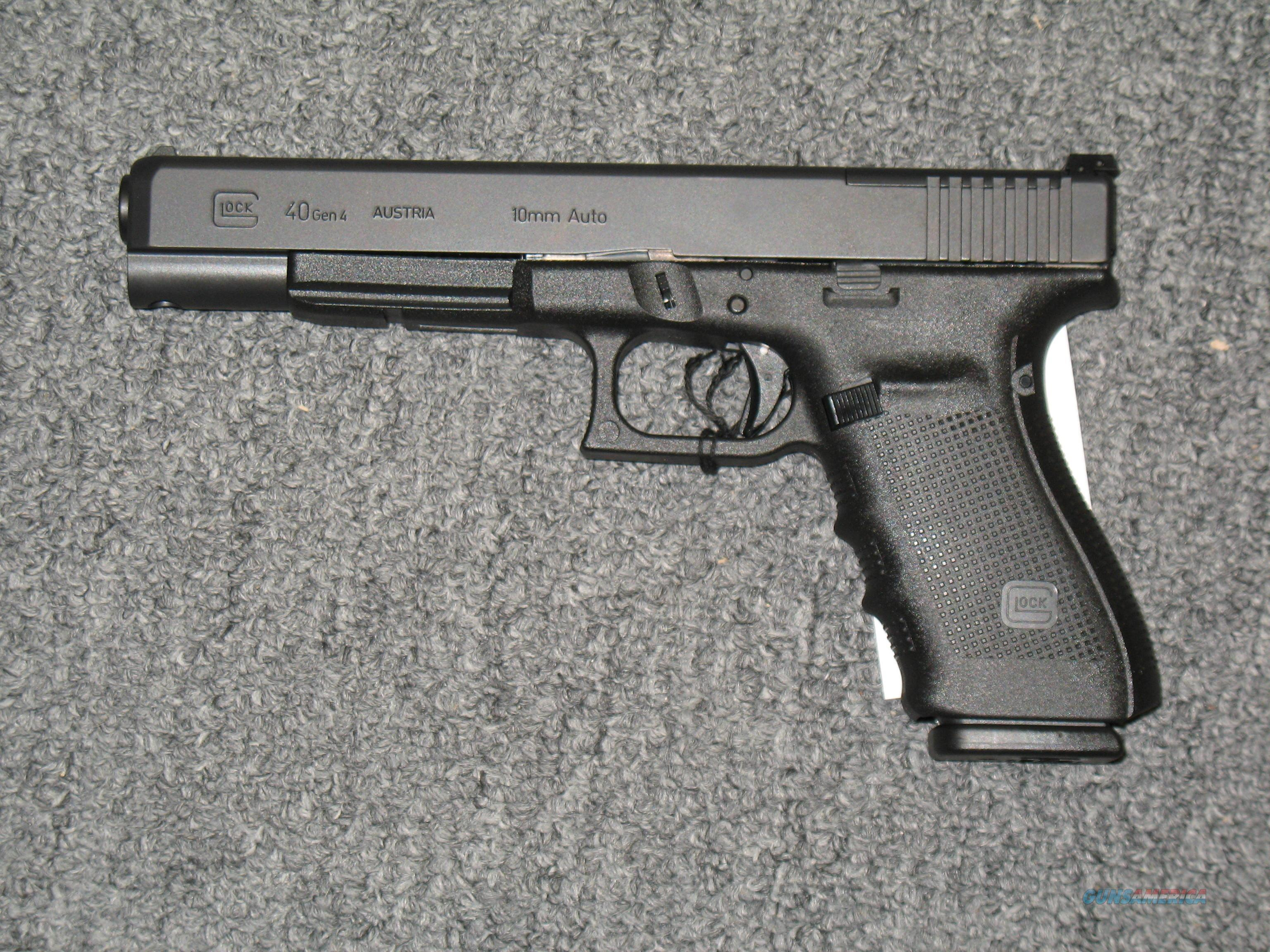Glock 40 Gen 4 MOS, with three 15rd mags JUST RELEASED!!!    Guns > Pistols > Glock Pistols > 20/21