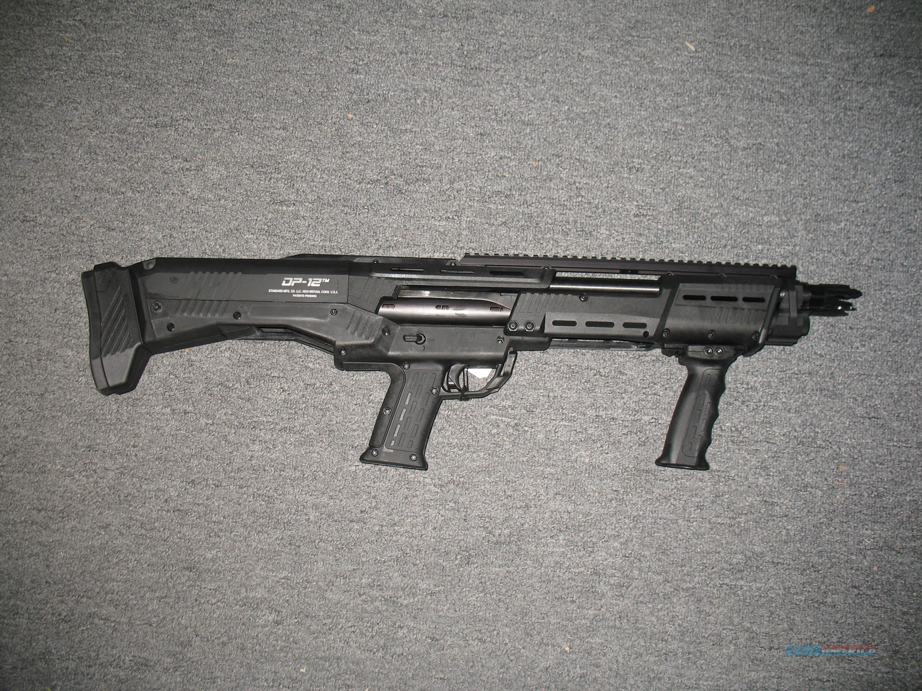 Standard Manufacturing  DP-12 all black 12 guage  Guns > Shotguns > S Misc Shotguns