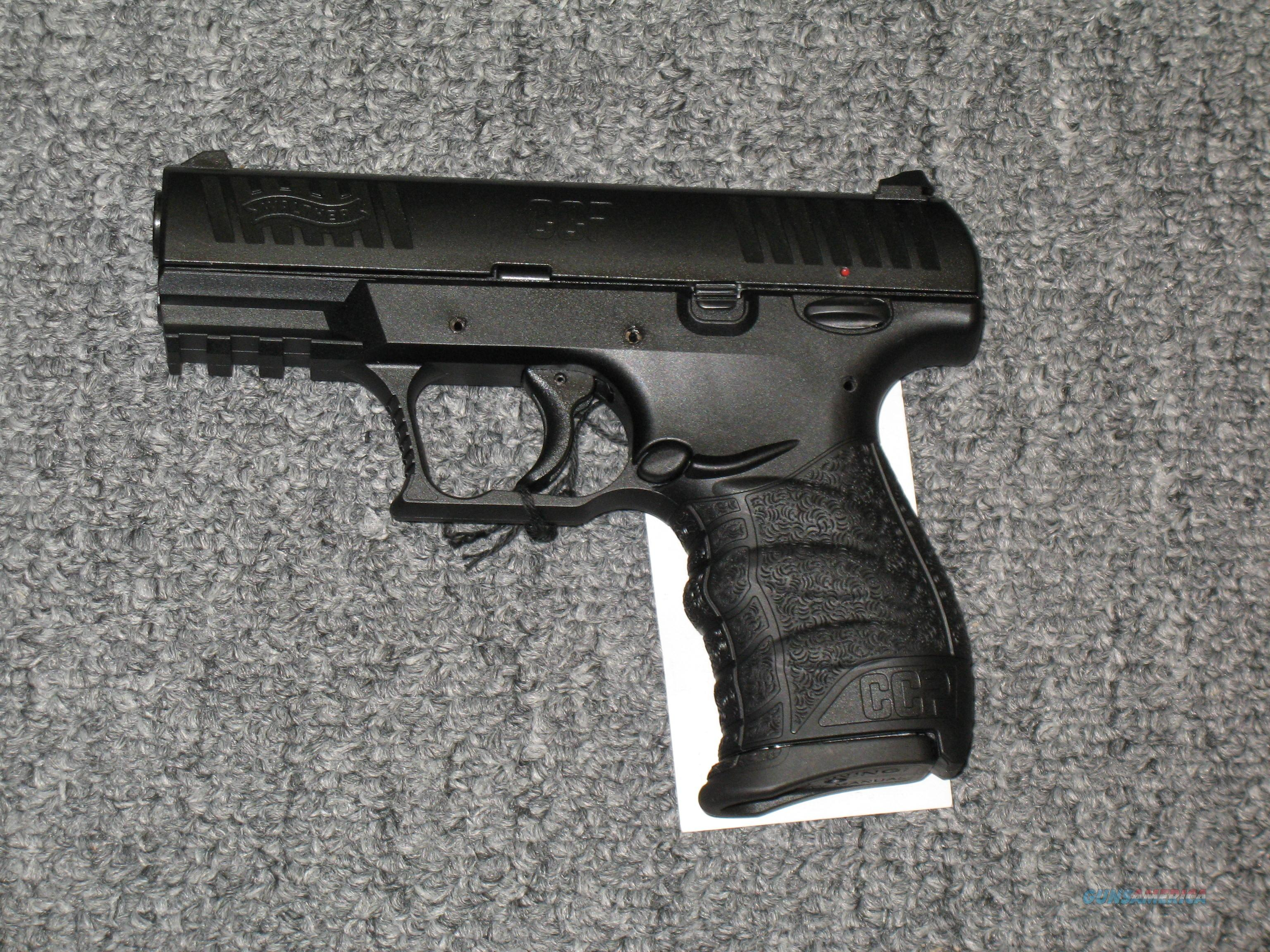 "Walther CCP  all black, w/3.5"" bbl, two 8 rd mags.  Guns > Pistols > Walther Pistols > Post WWII > PPK Series"