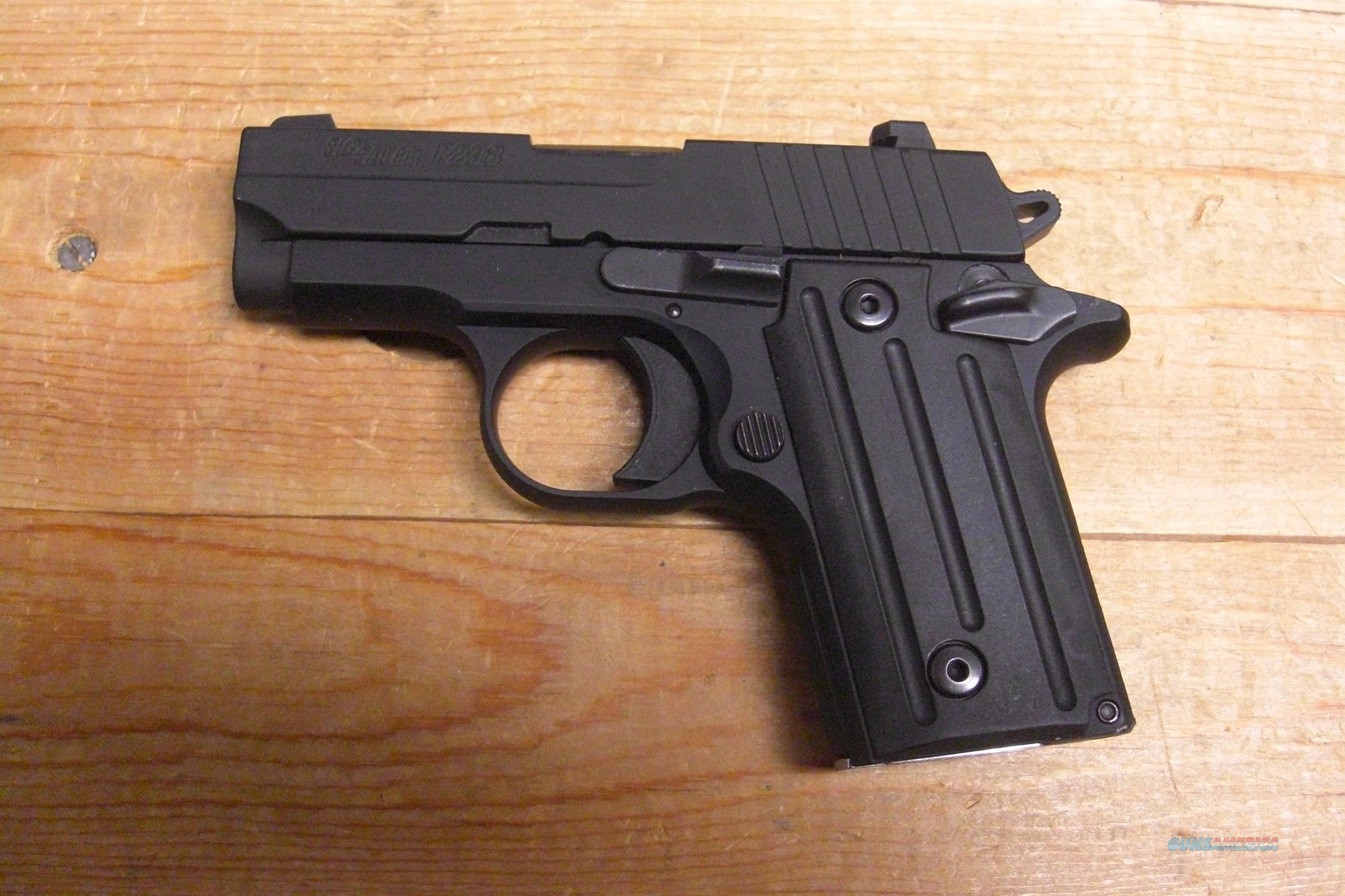 P238 w/Night Sights  all black  Guns > Pistols > Sig - Sauer/Sigarms Pistols > Other