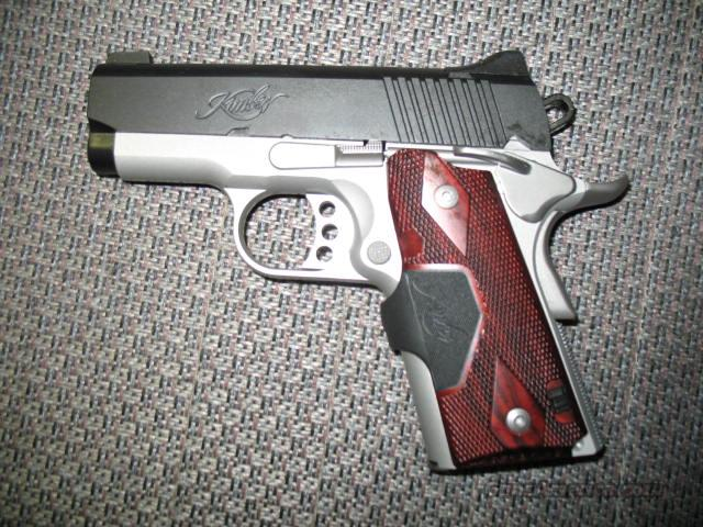 Ultra Crimson Carry II w/laser grips  Guns > Pistols > Kimber of America Pistols