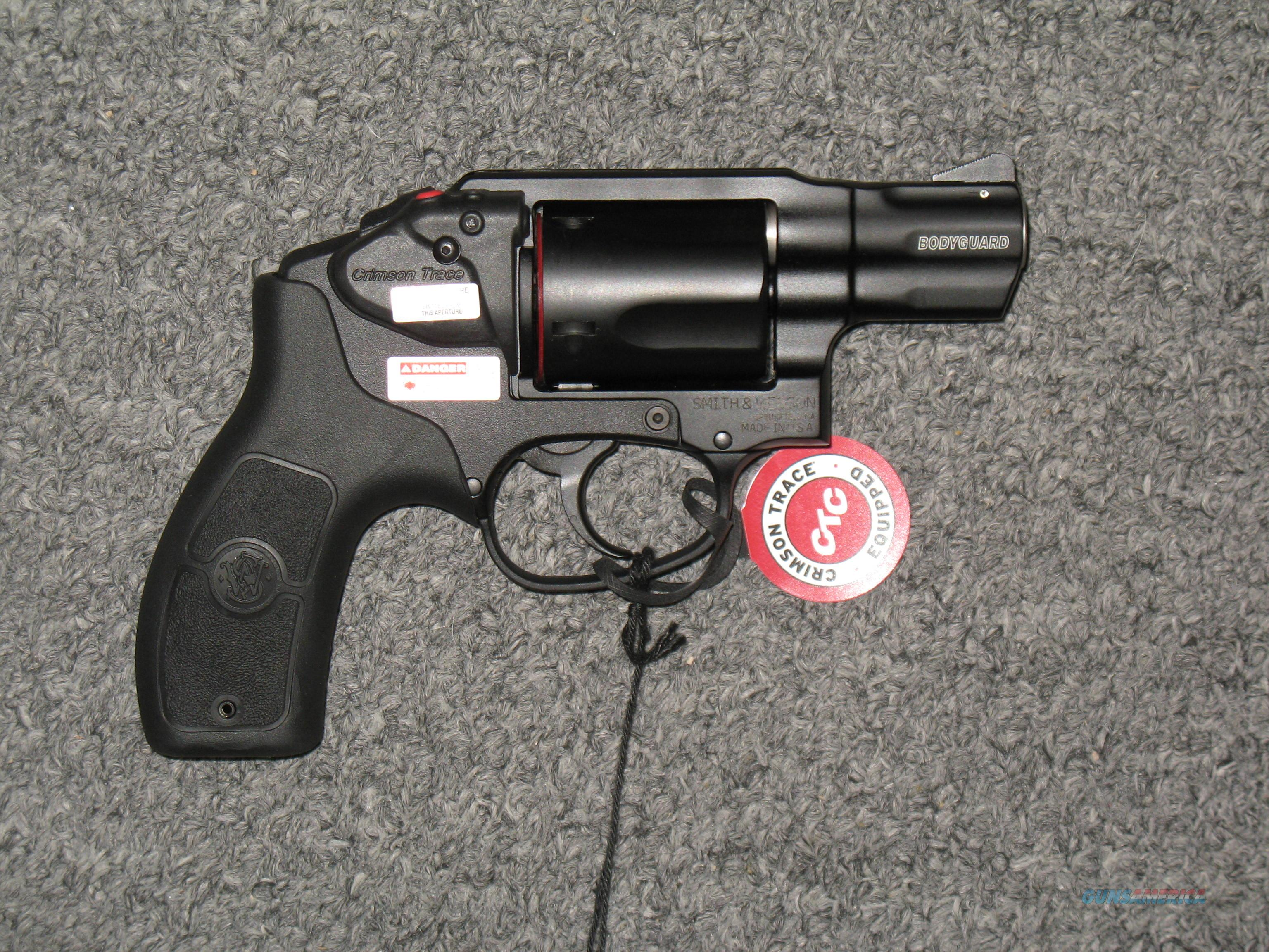 Smith & Wesson M&P Bodyguard 38 w/Crimson Trace Laser  Guns > Pistols > Smith & Wesson Revolvers > Small Frame ( J )