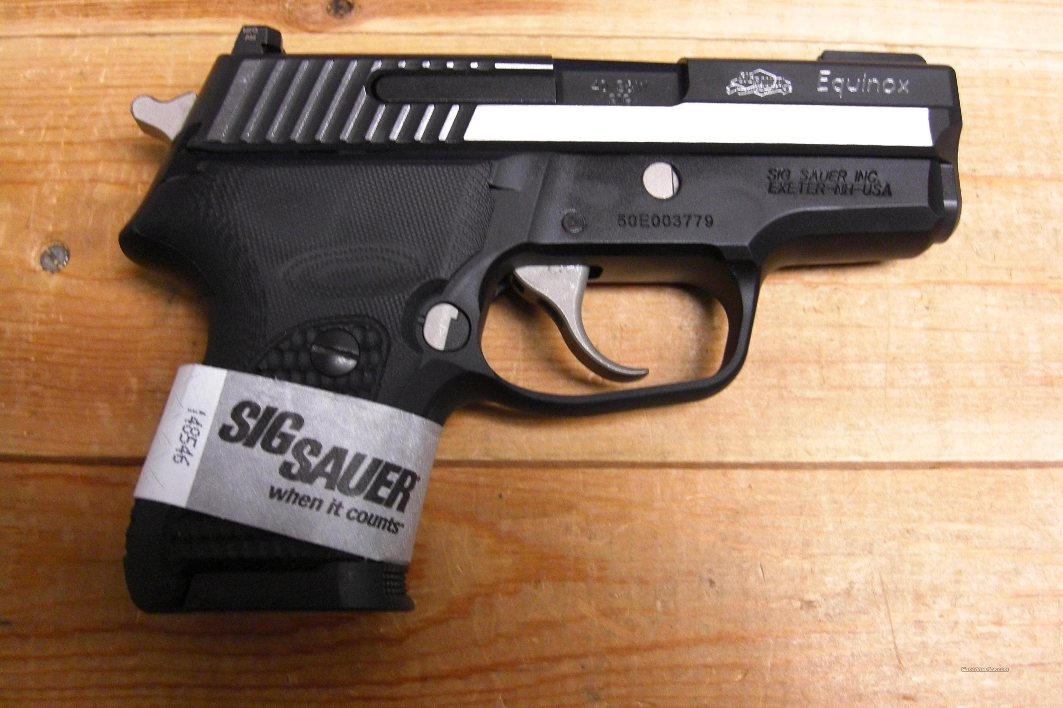 P224 Equinox w/nightsights  Guns > Pistols > Sig - Sauer/Sigarms Pistols > Other