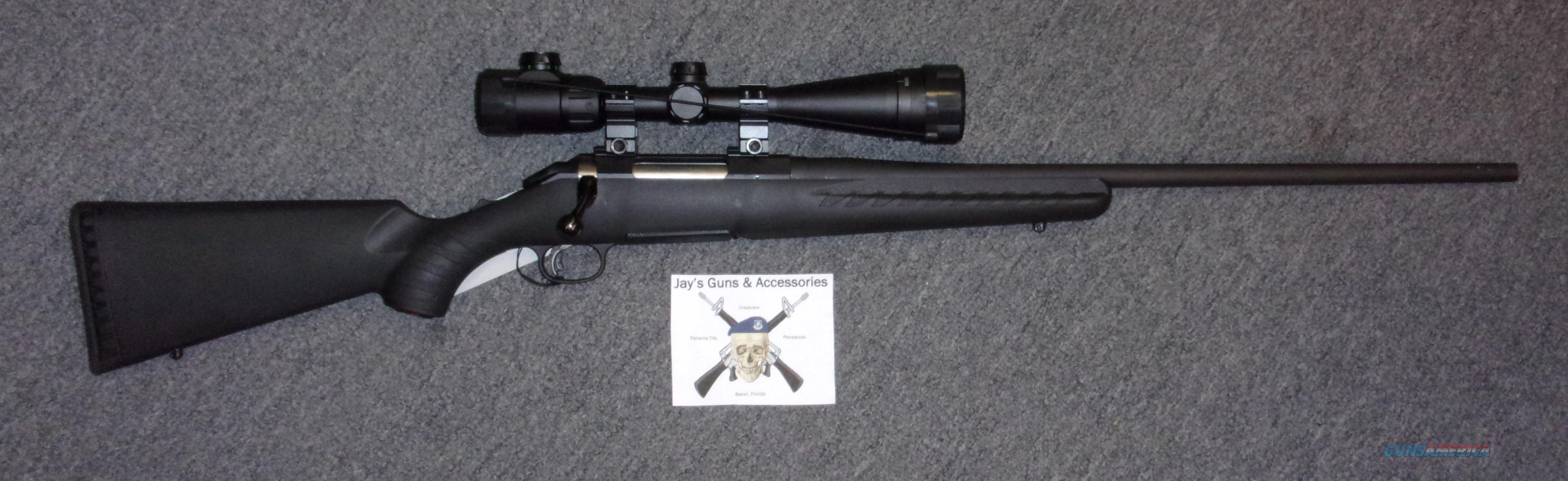 Ruger American w/Scope  Guns > Rifles > Ruger Rifles > American