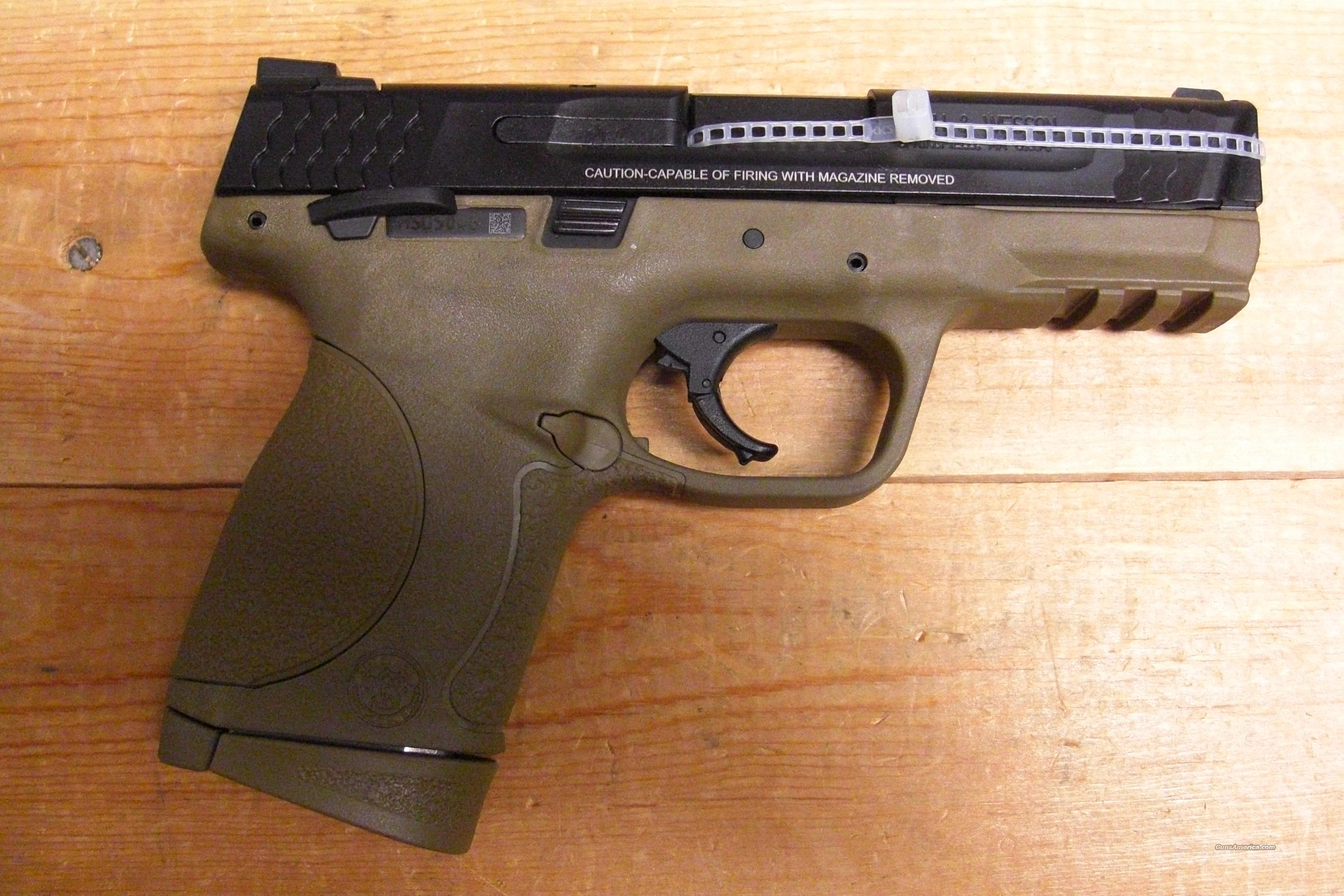 M & P 45C w/ambi-safety, FDE finish  Guns > Pistols > Smith & Wesson Pistols - Autos > Polymer Frame