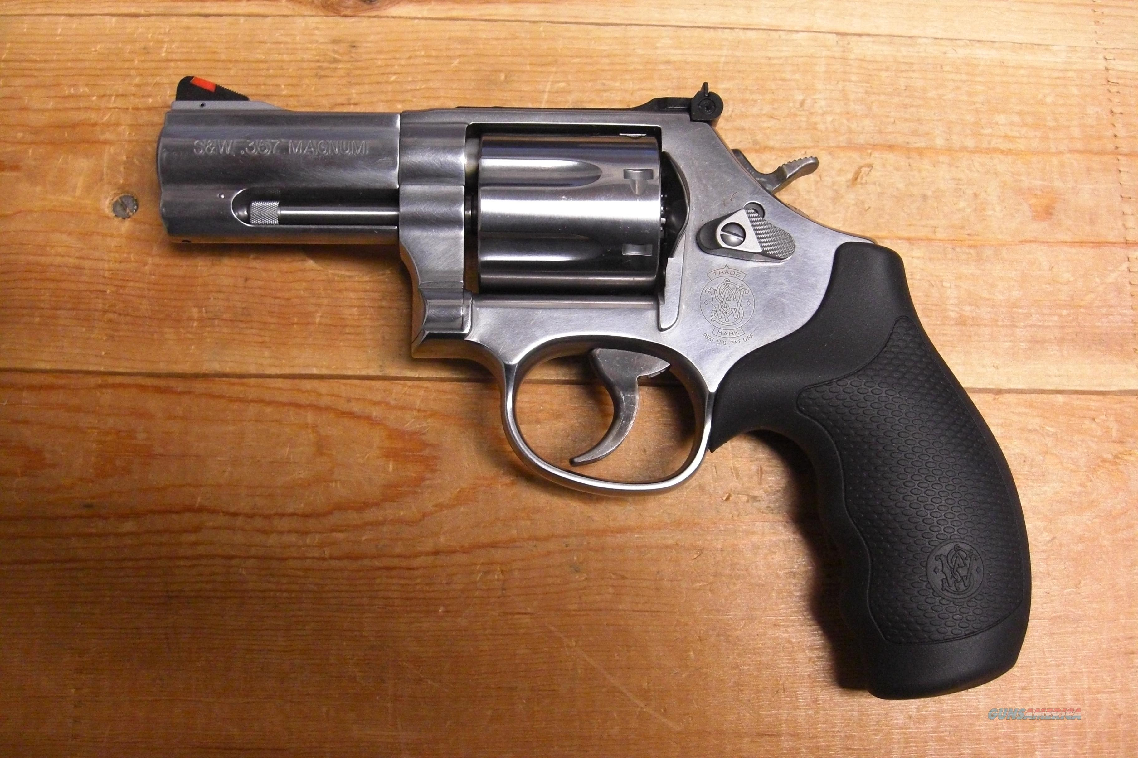 "686-6  Plus  3""bbl., SS  Guns > Pistols > Smith & Wesson Revolvers > Full Frame Revolver"