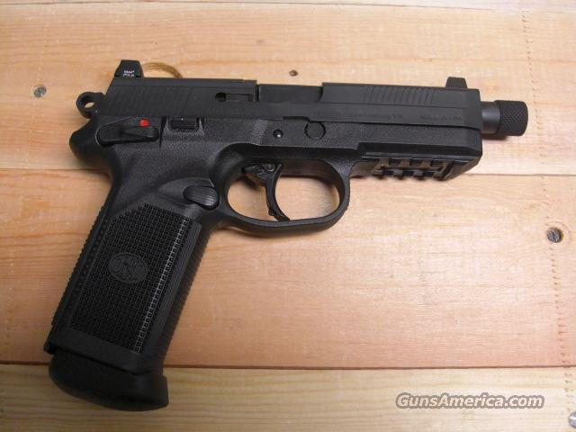 FNP-45 Tactical w/threaded barrel  Guns > Pistols > FNH - Fabrique Nationale (FN) Pistols > FNP