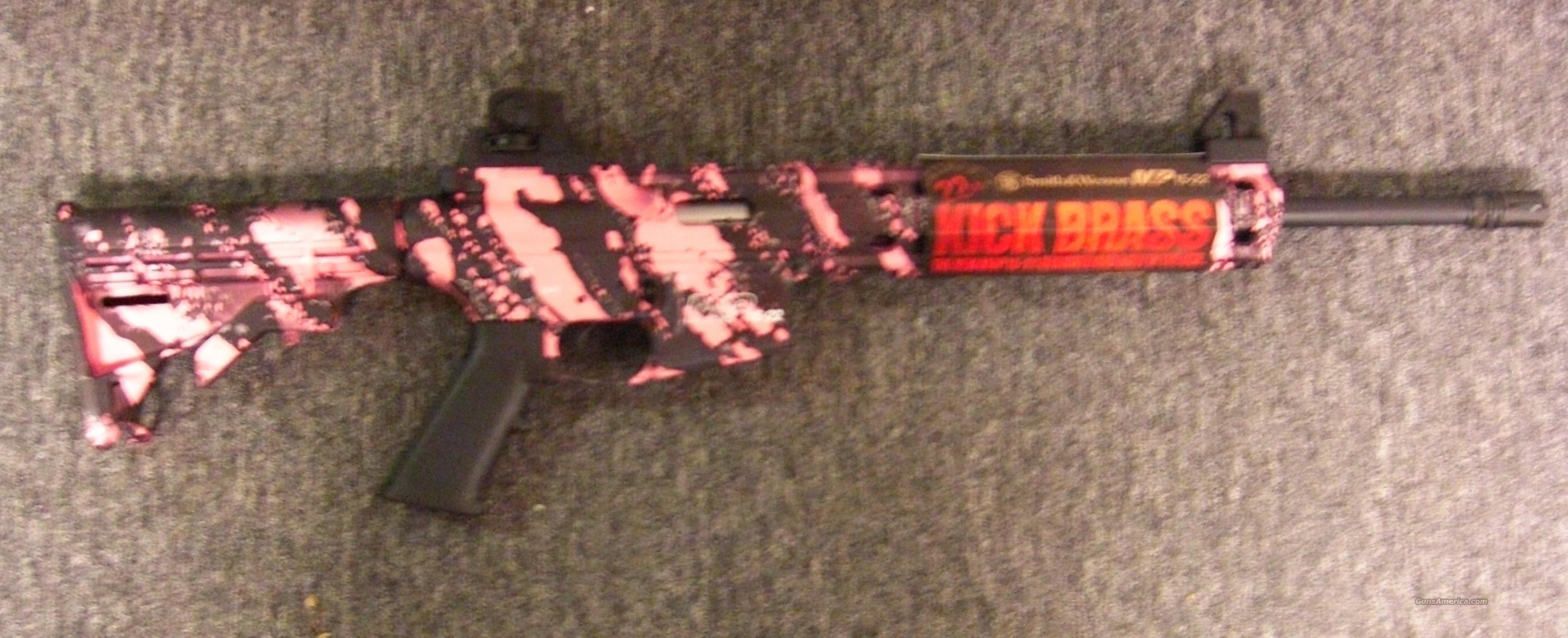 M & P 15-22  pink camo w/flash hider  Guns > Rifles > Smith & Wesson Rifles > M&P
