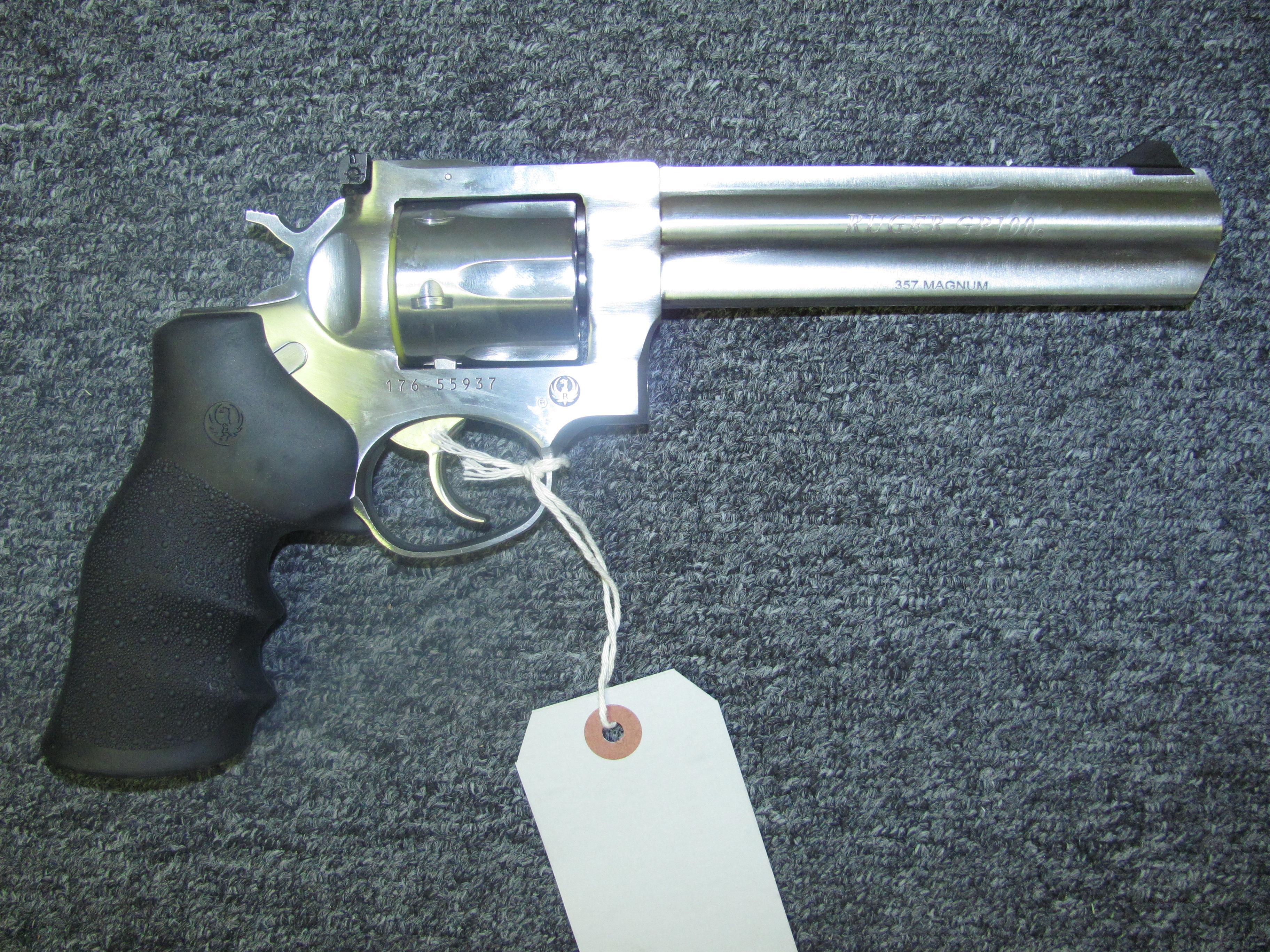 GP-100 (1707)  Guns > Pistols > Ruger Double Action Revolver > Security Six Type