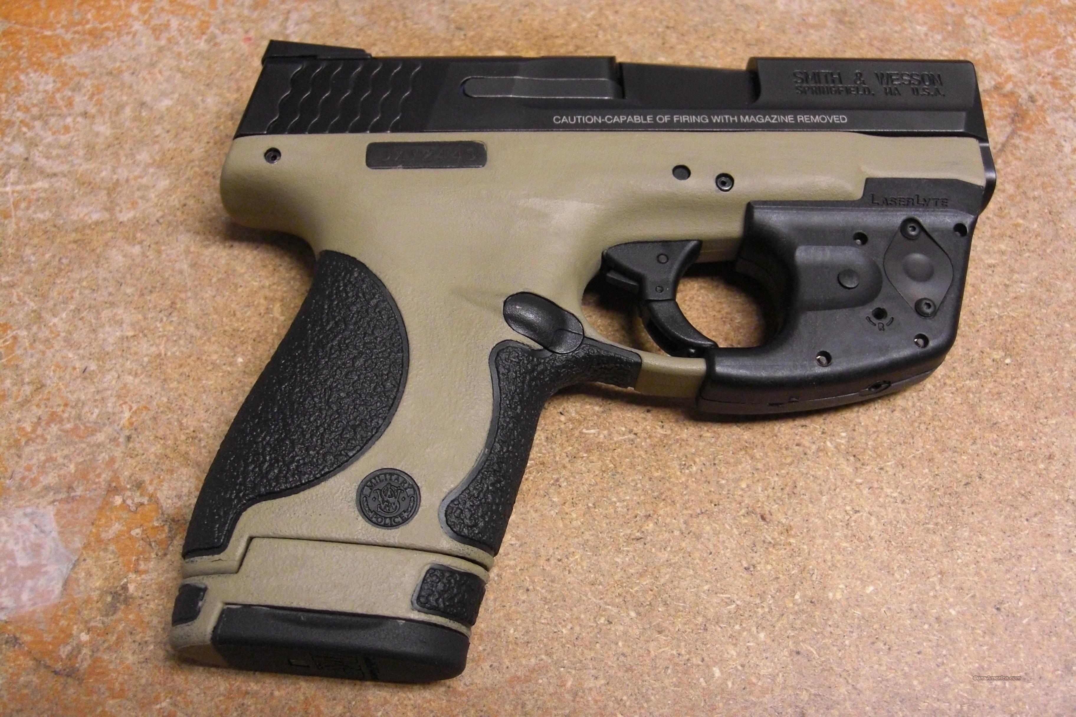 M & P 40 Shield   w/red dot laser  Guns > Pistols > Smith & Wesson Pistols - Autos > Shield