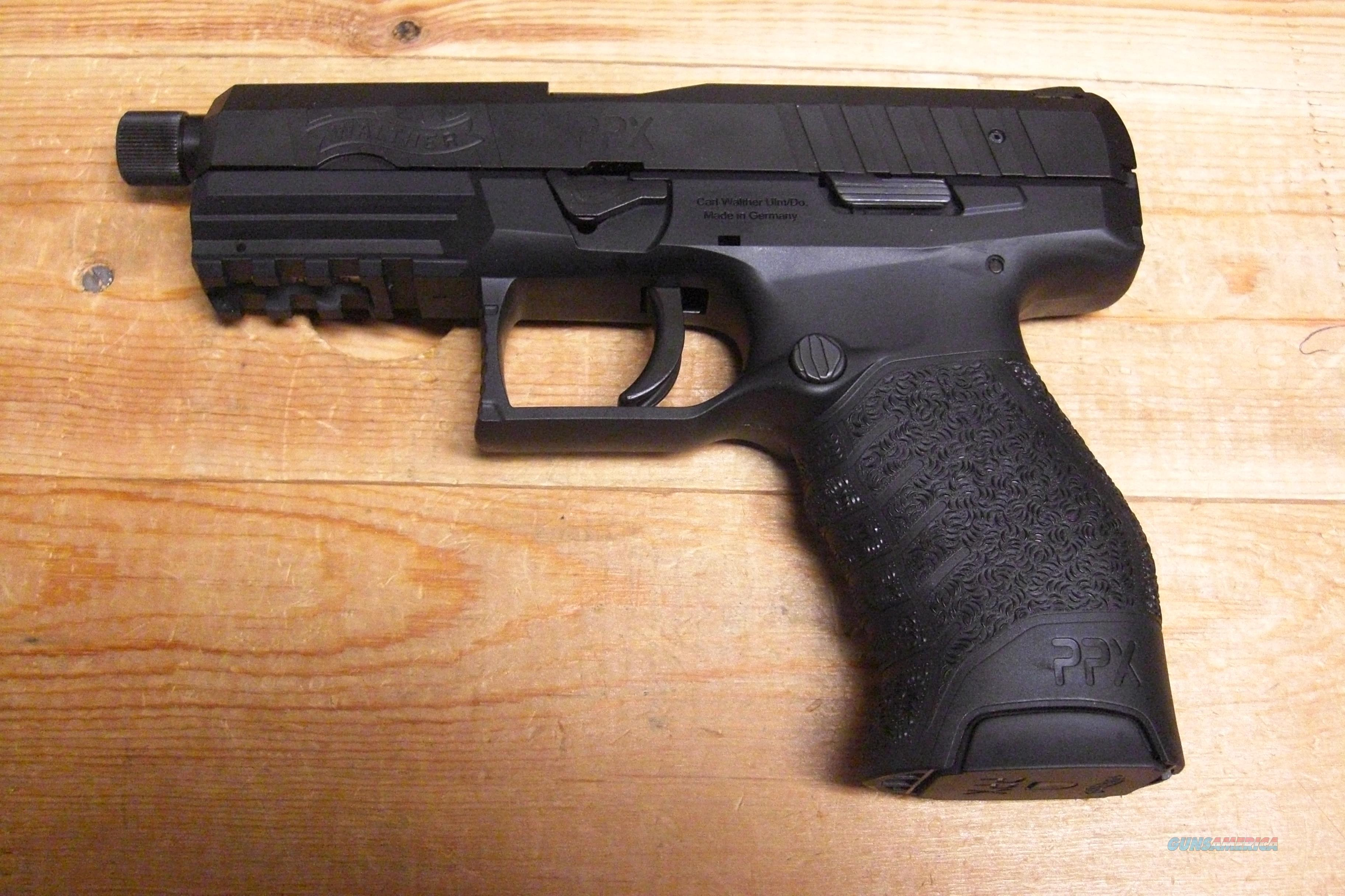 PPX  w/2 16 rd mags w/Threaded BBL:  Guns > Pistols > Walther Pistols > Post WWII > P99/PPQ