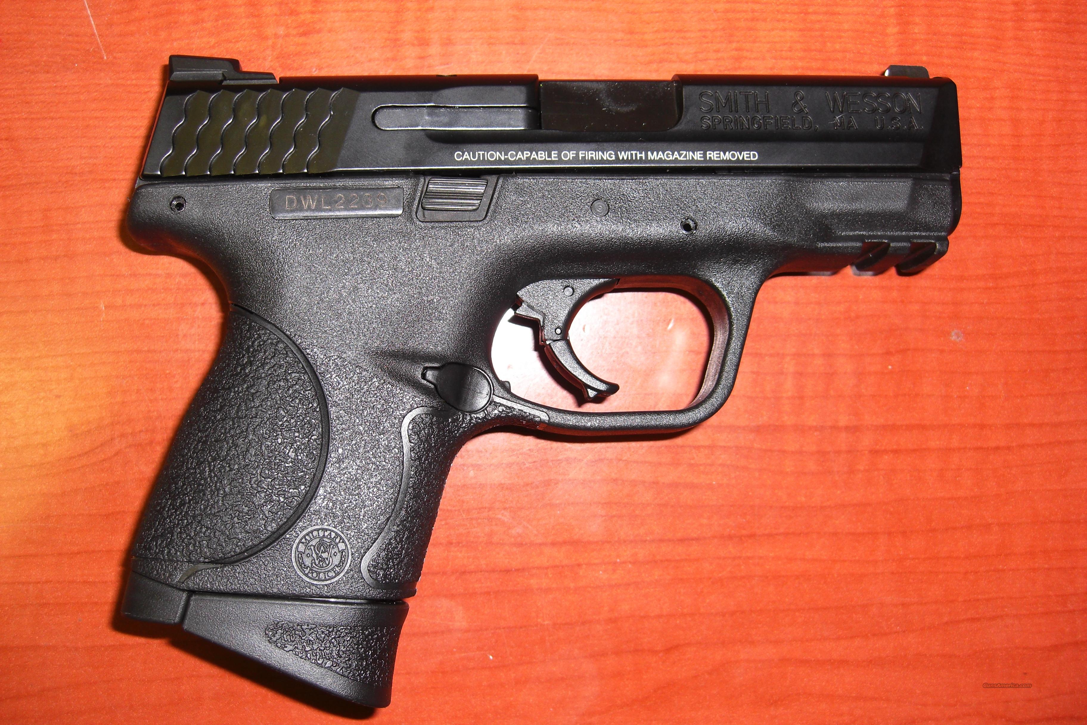 M & P 9C  Guns > Pistols > Smith & Wesson Pistols - Autos > Polymer Frame