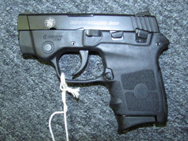 BG 380 (laser)  Guns > Pistols > Smith & Wesson Pistols - Autos > Polymer Frame