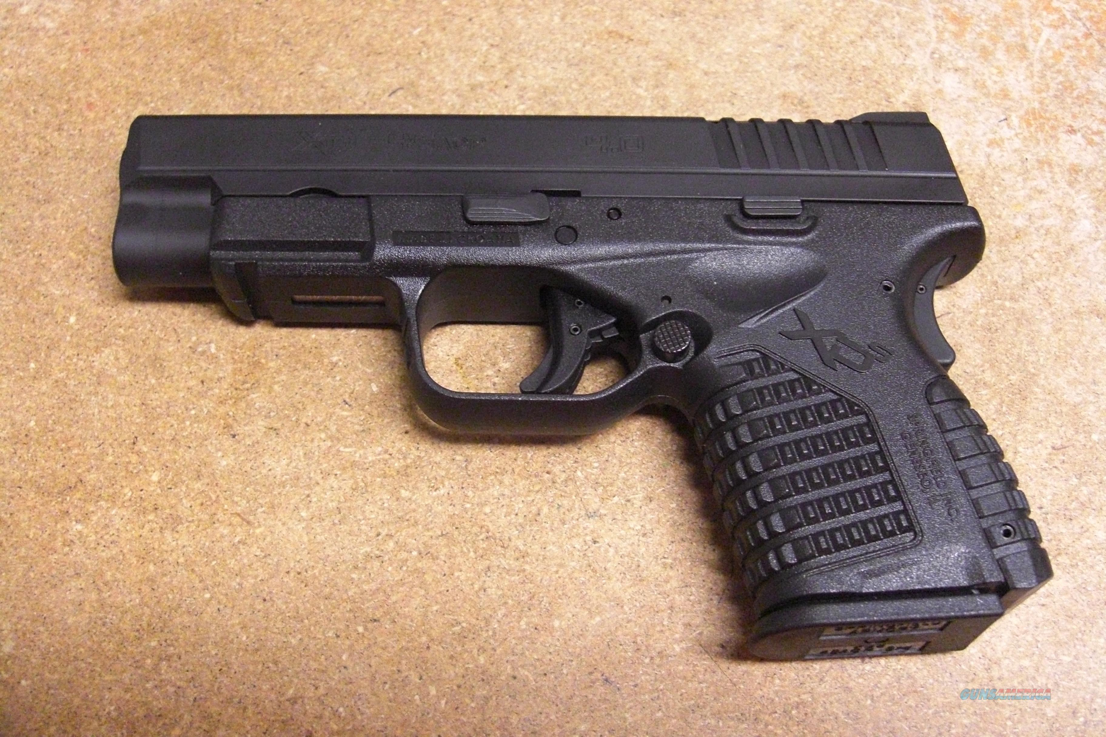 "XDS-45 w/4"" bbl., all black finish  Guns > Pistols > Springfield Armory Pistols > XD (eXtreme Duty)"