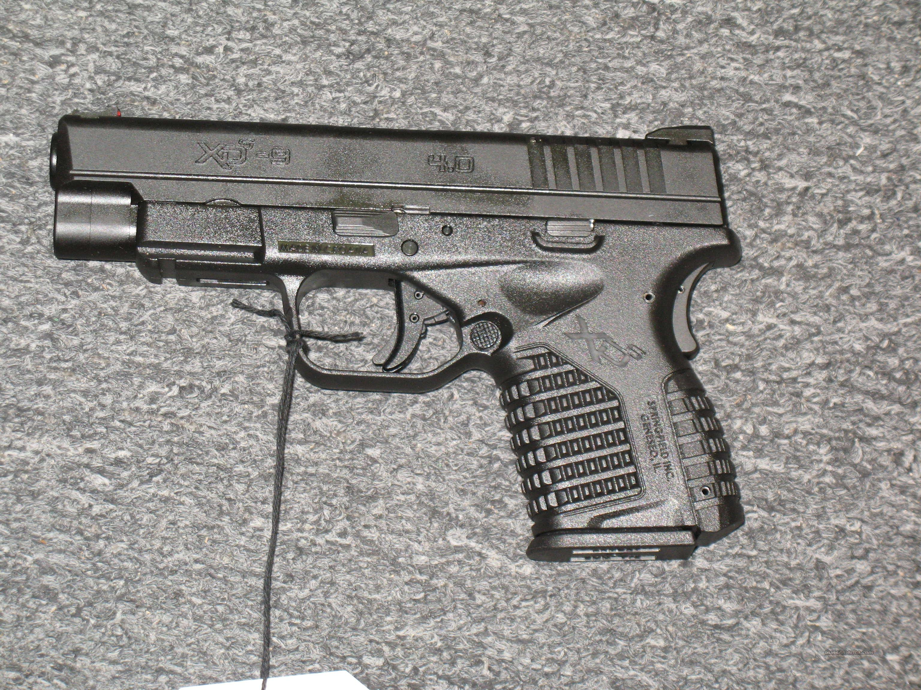 "XDS-9 w/4"" bbl., 2 mags.  Guns > Pistols > Springfield Armory Pistols > XD-S"