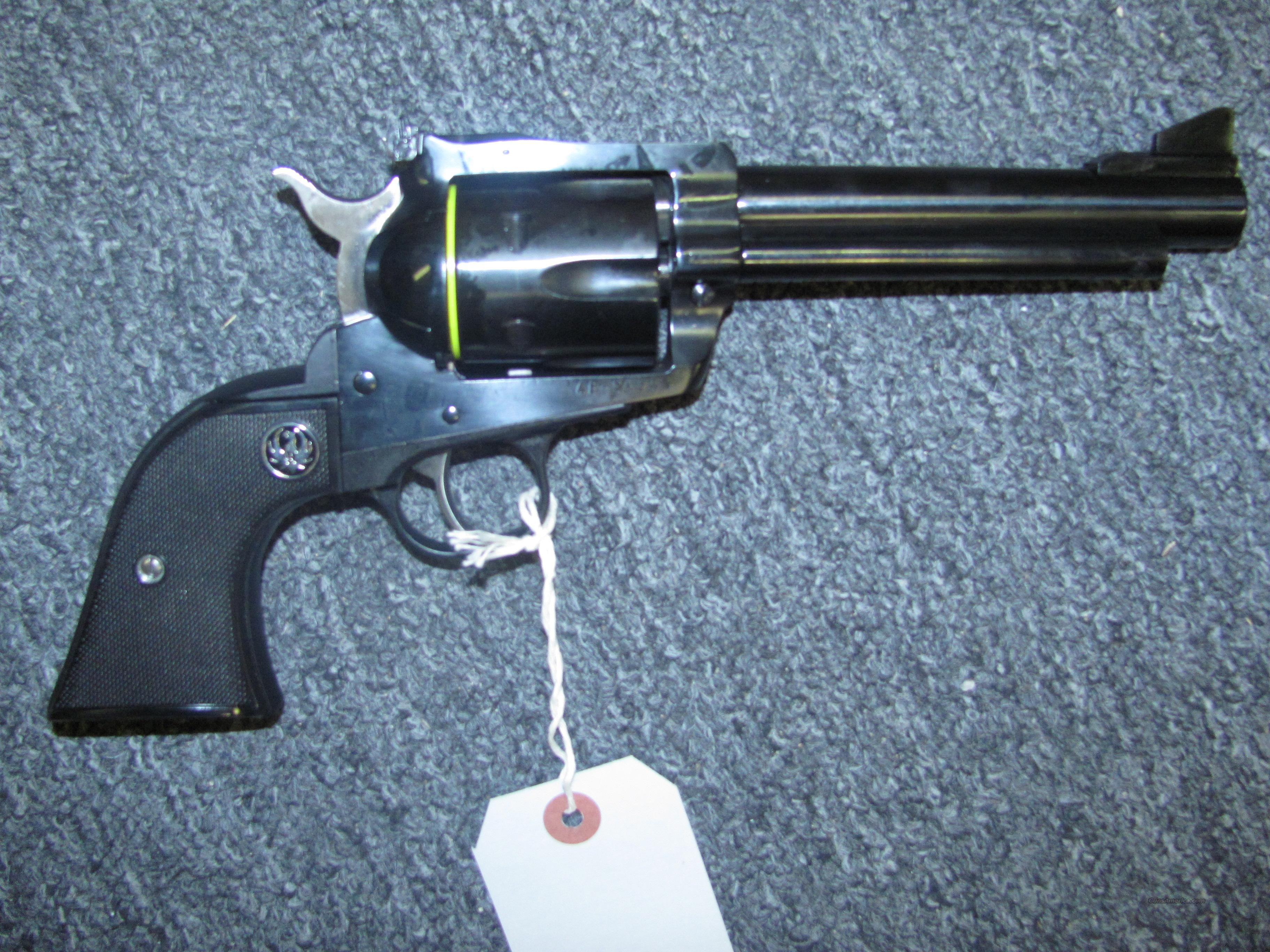 "New Model Blackhawk  w/5/5"" bbl.  Guns > Pistols > Ruger Single Action Revolvers > Blackhawk Type"