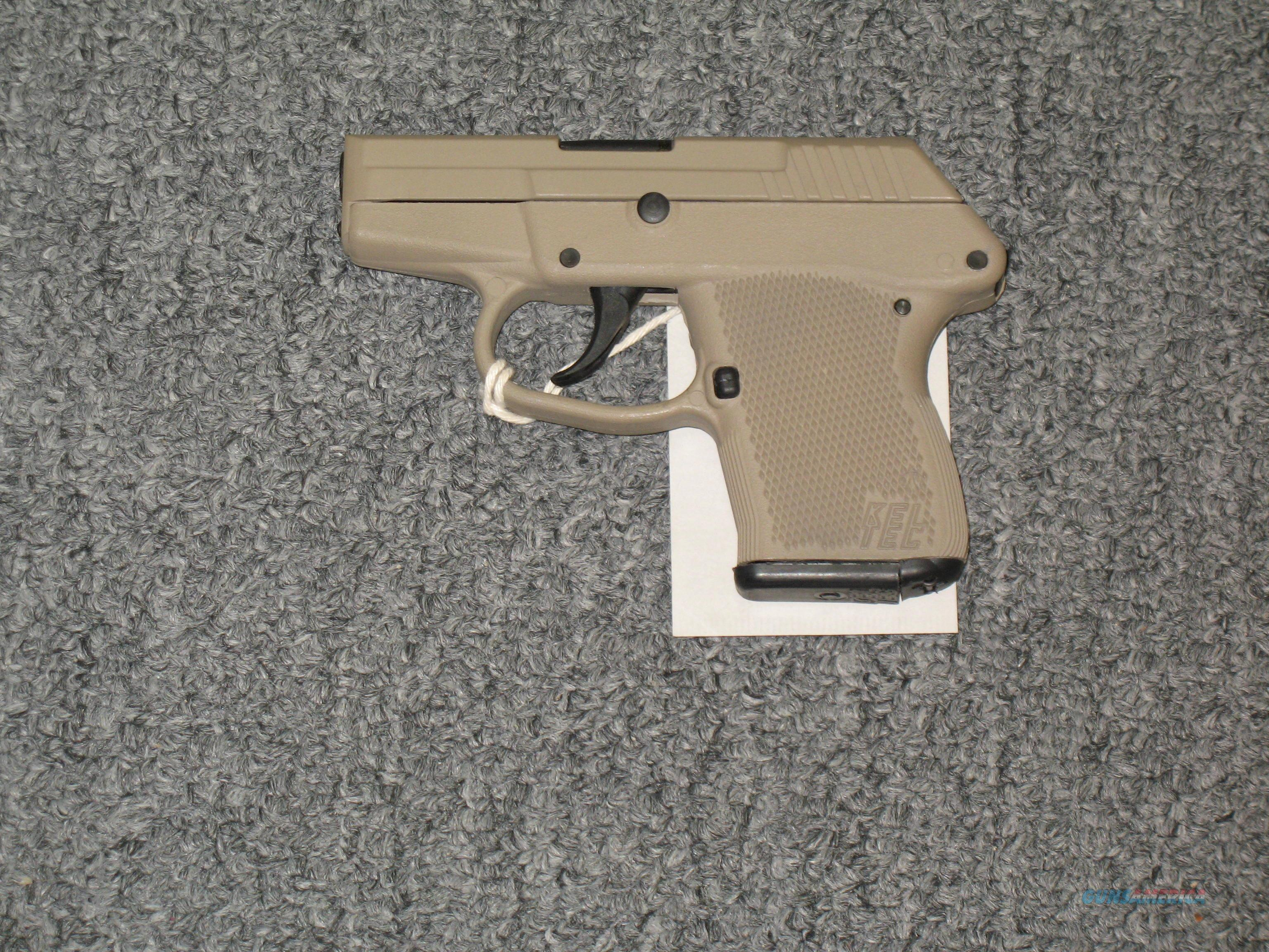 P-32  w/tan slide and frame  Guns > Pistols > Kel-Tec Pistols > Pocket Pistol Type