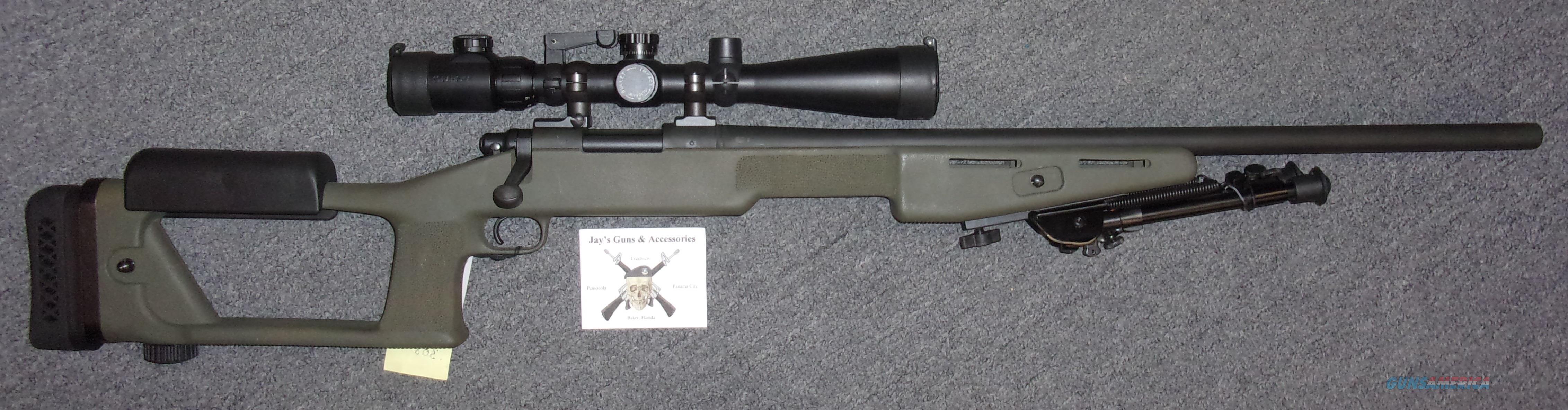 Remington 700 Police w/Scope & Kit  Guns > Rifles > Remington Rifles - Modern > Model 700 > Tactical
