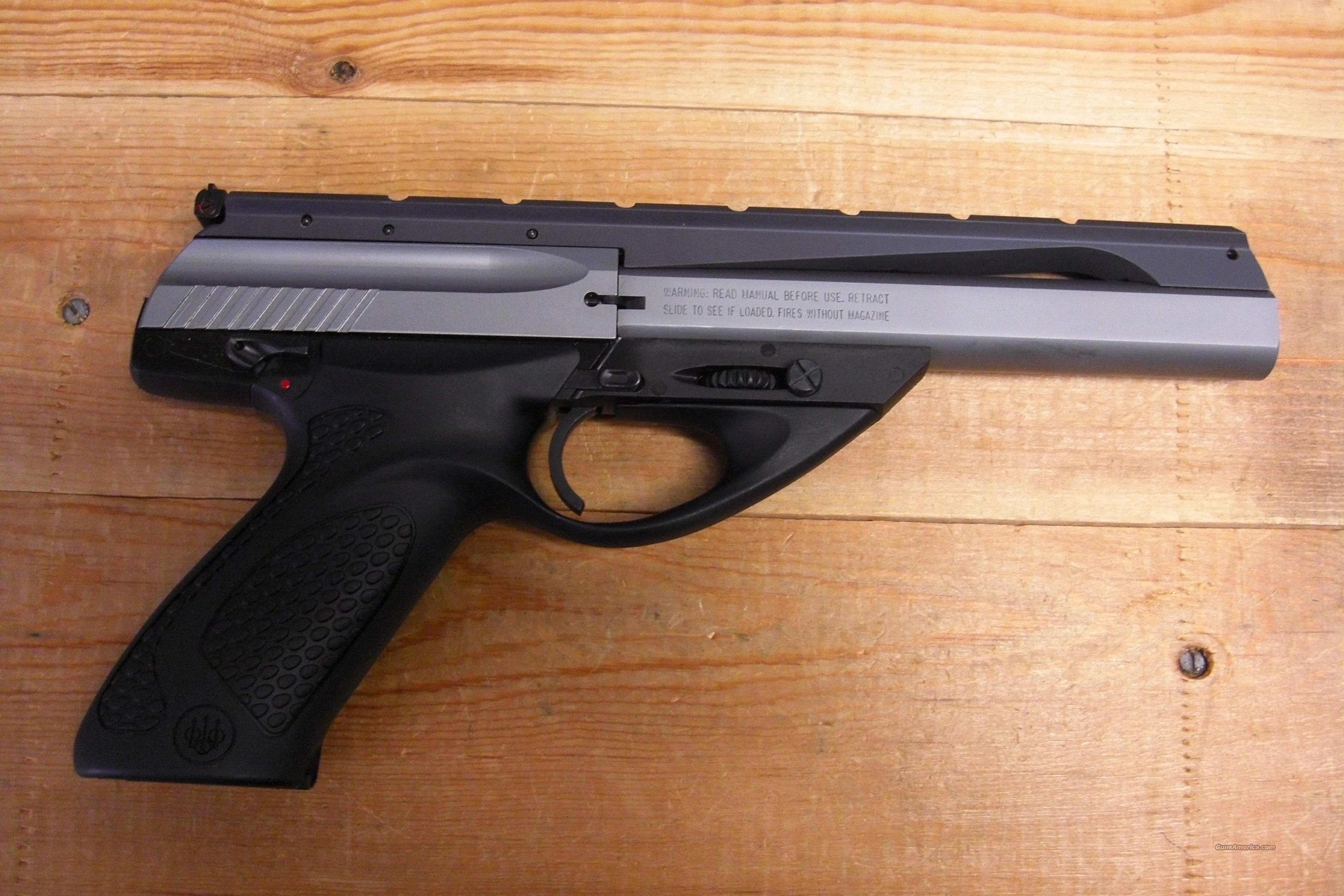 "U22 NEOS  Black/Stainless, 6"" bbl.  Guns > Pistols > Beretta Pistols > Small Caliber Tip Out"