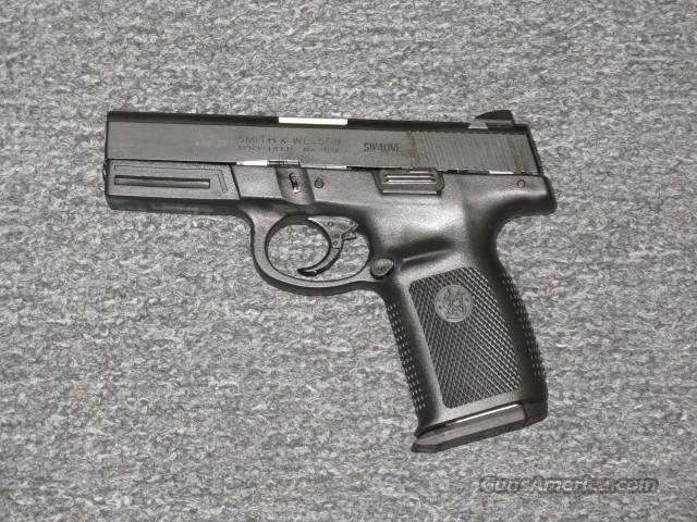 SW40VE 40s&w (all black finish)  Guns > Pistols > Smith & Wesson Pistols - Autos > Polymer Frame