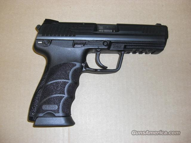 HK 45  w/luminescent sights  Guns > Pistols > Heckler & Koch Pistols > Polymer Frame
