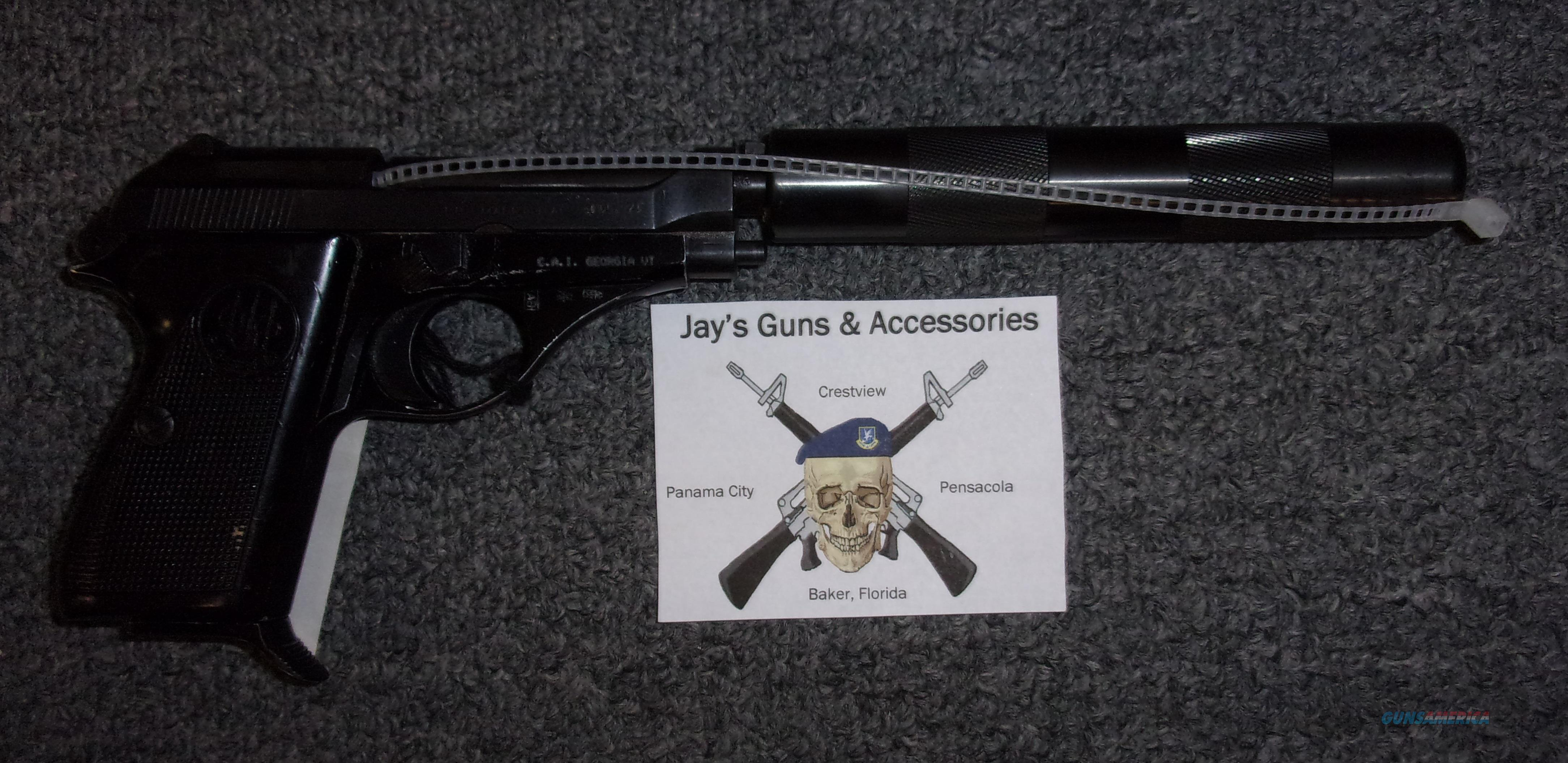 Beretta 71 Jaguar w/Fake Suppressor  Guns > Pistols > Beretta Pistols > Rare & Collectible