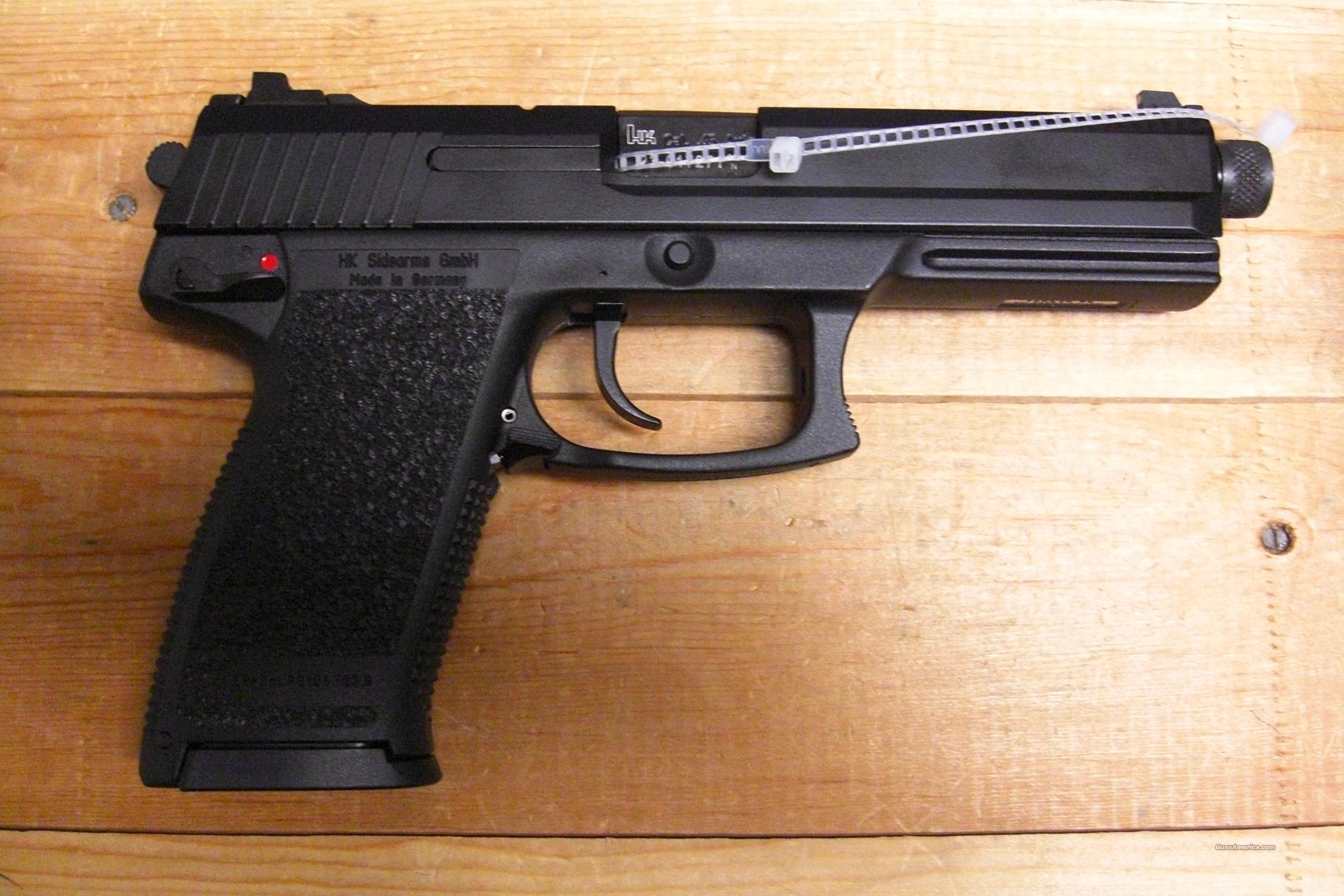 Mark 23 V1 w/threaded barrel  Guns > Pistols > Heckler & Koch Pistols > Polymer Frame