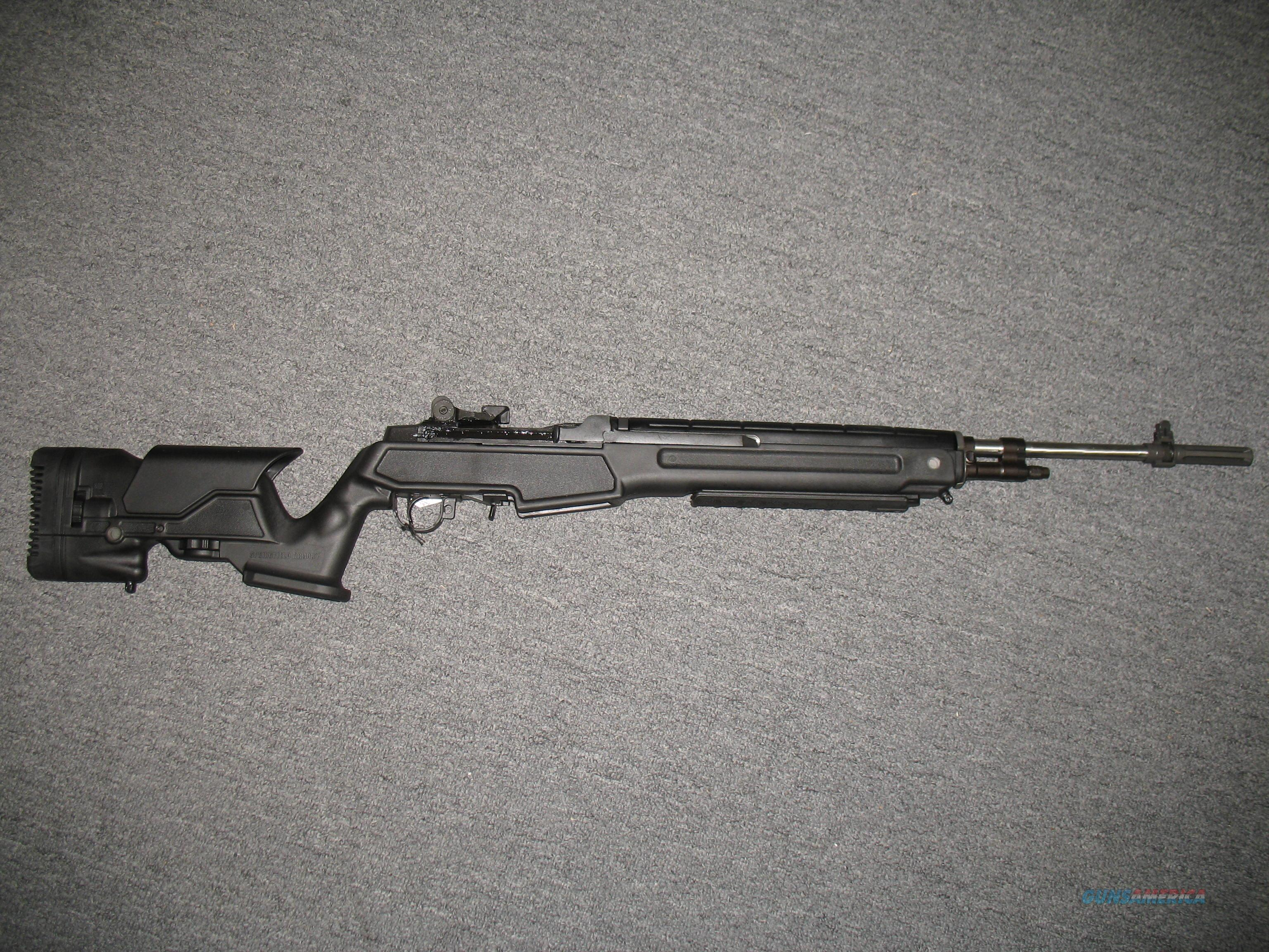 Springfield Armory M1A (MP9826) w/Precision Archangel stock assembly   Guns > Rifles > Springfield Armory Rifles > M1A/M14